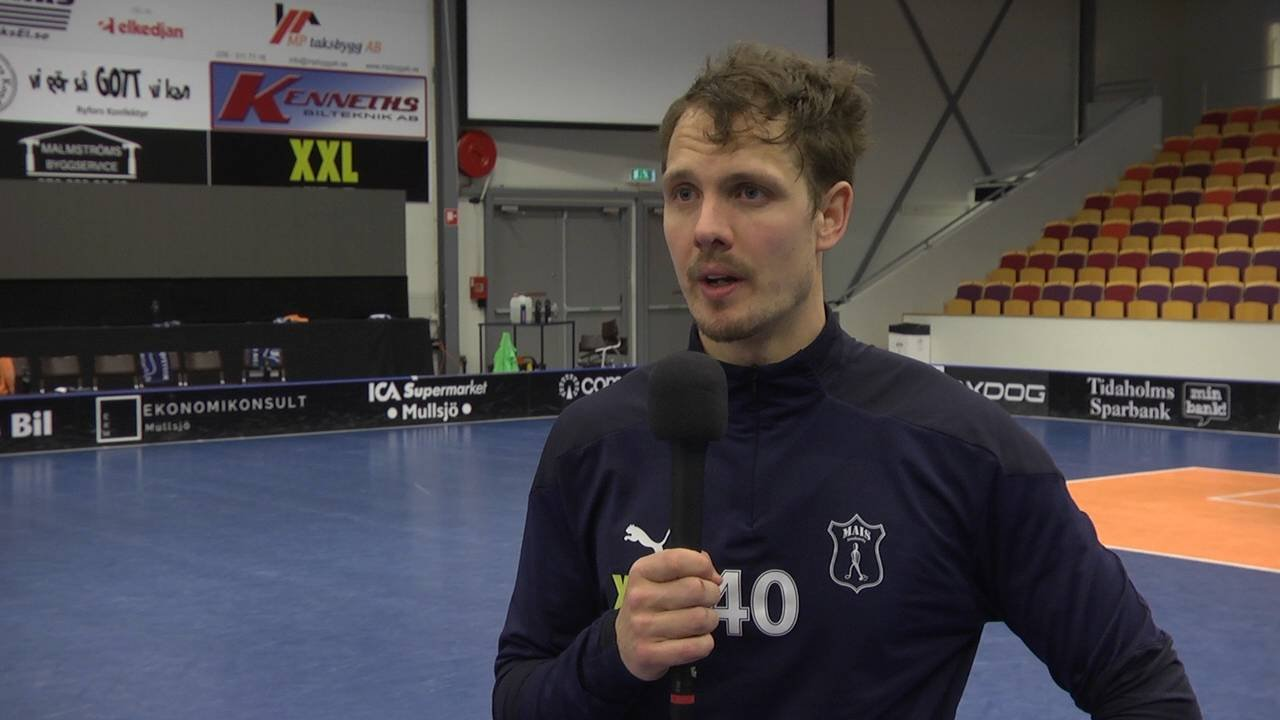 Eriksson efter suddenvinsten mot Pixbo