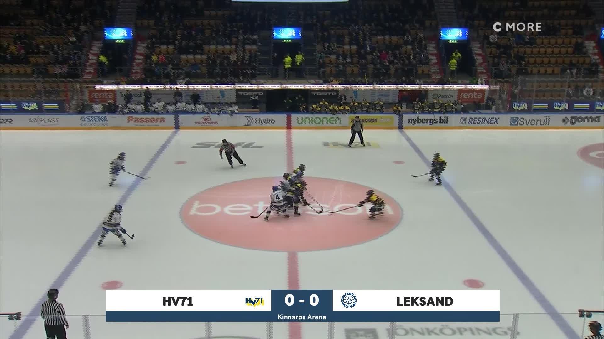 Highlights Kvartsfinal 2:3: HV71-Leksand 22 Februari