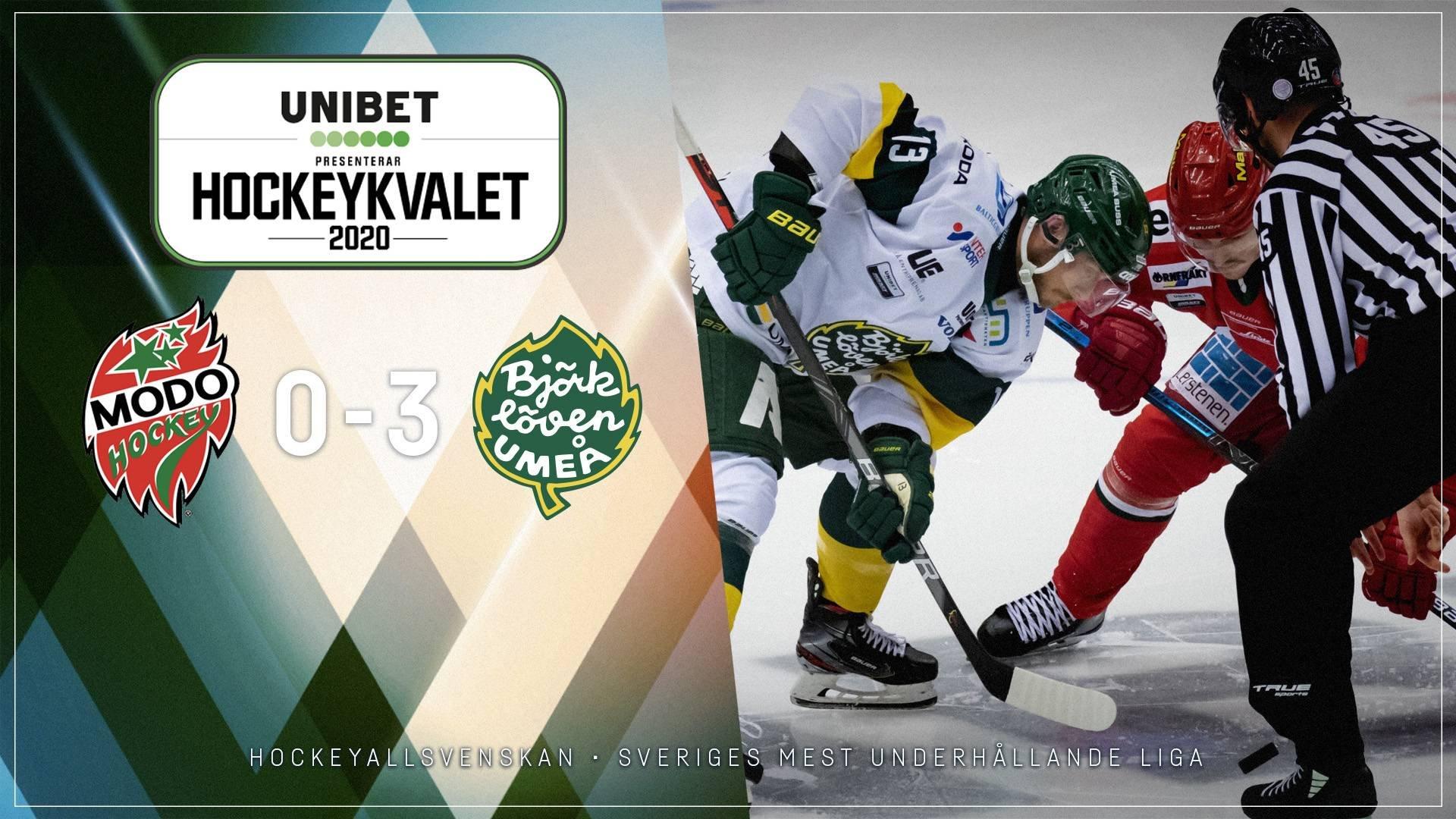 2020-03-12 MODO - Björklöven 0-3