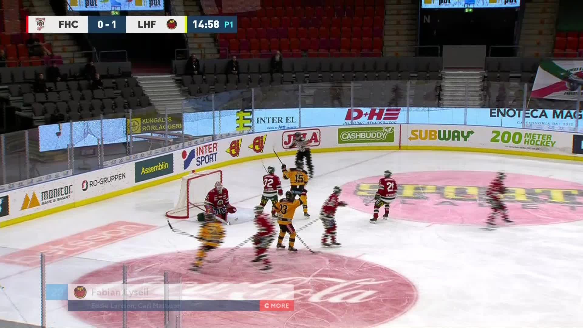 Frölunda HC - Luleå Hockey 0-2