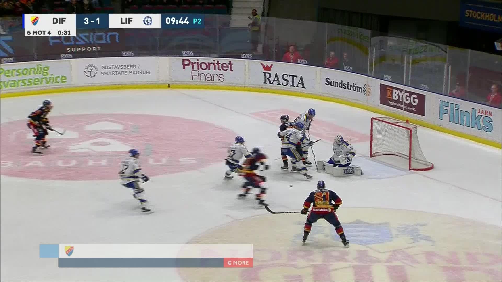 Djurgården Hockey - Leksands IF 4-1