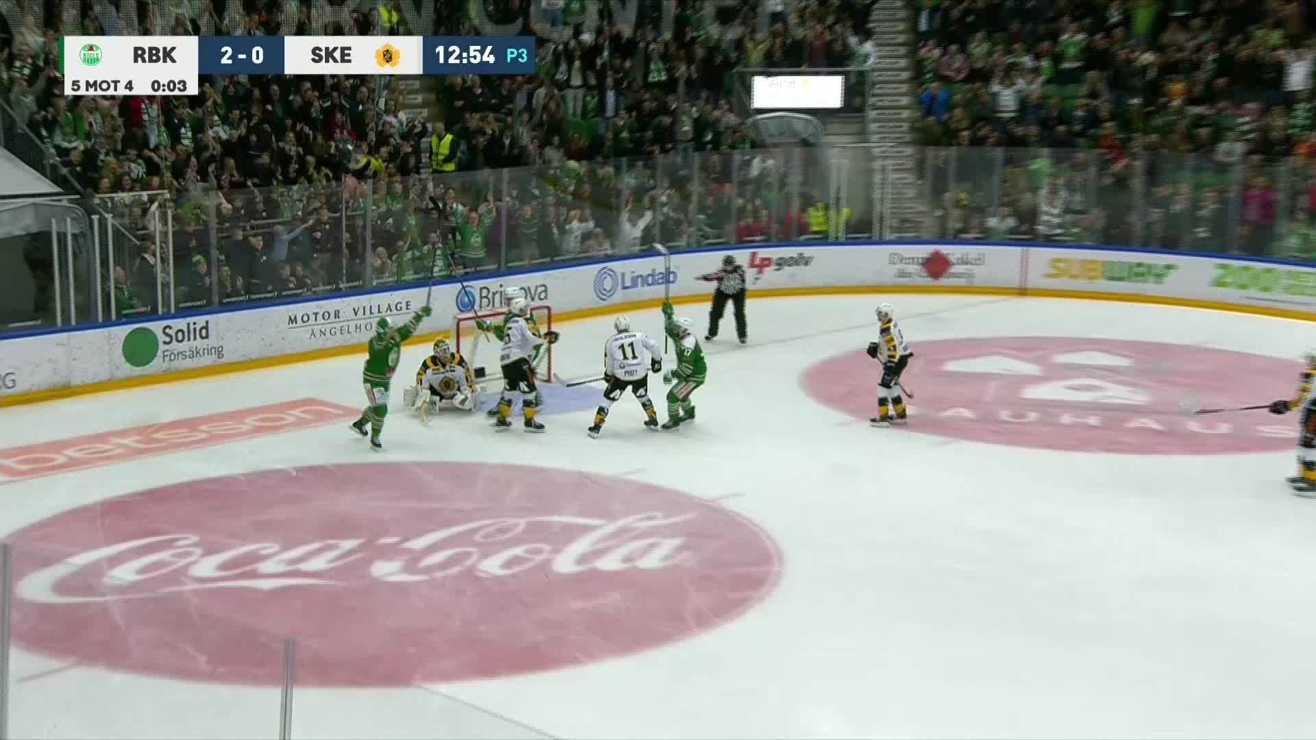 Rögle BK - Skellefteå AIK 3-0