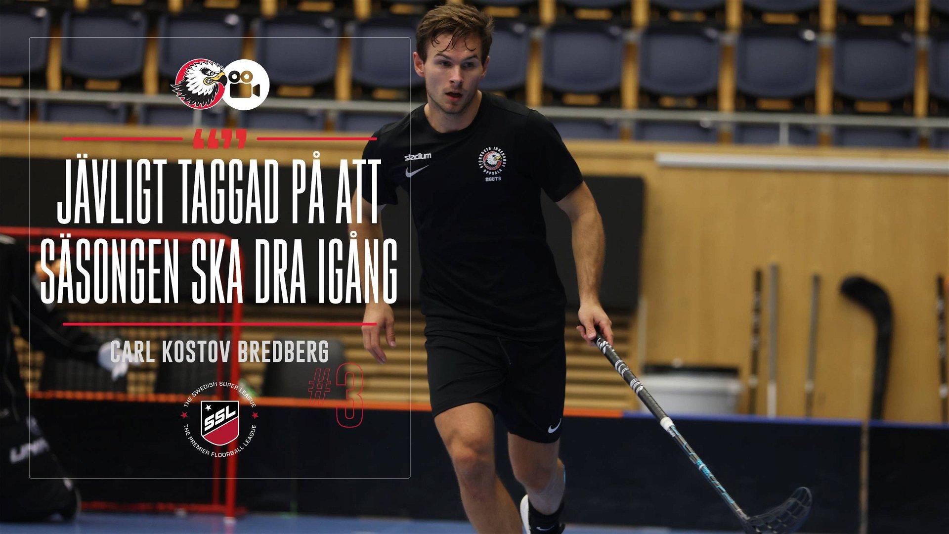"""Carl Kostov Bredberg """"Ett krig där uppe"""""""
