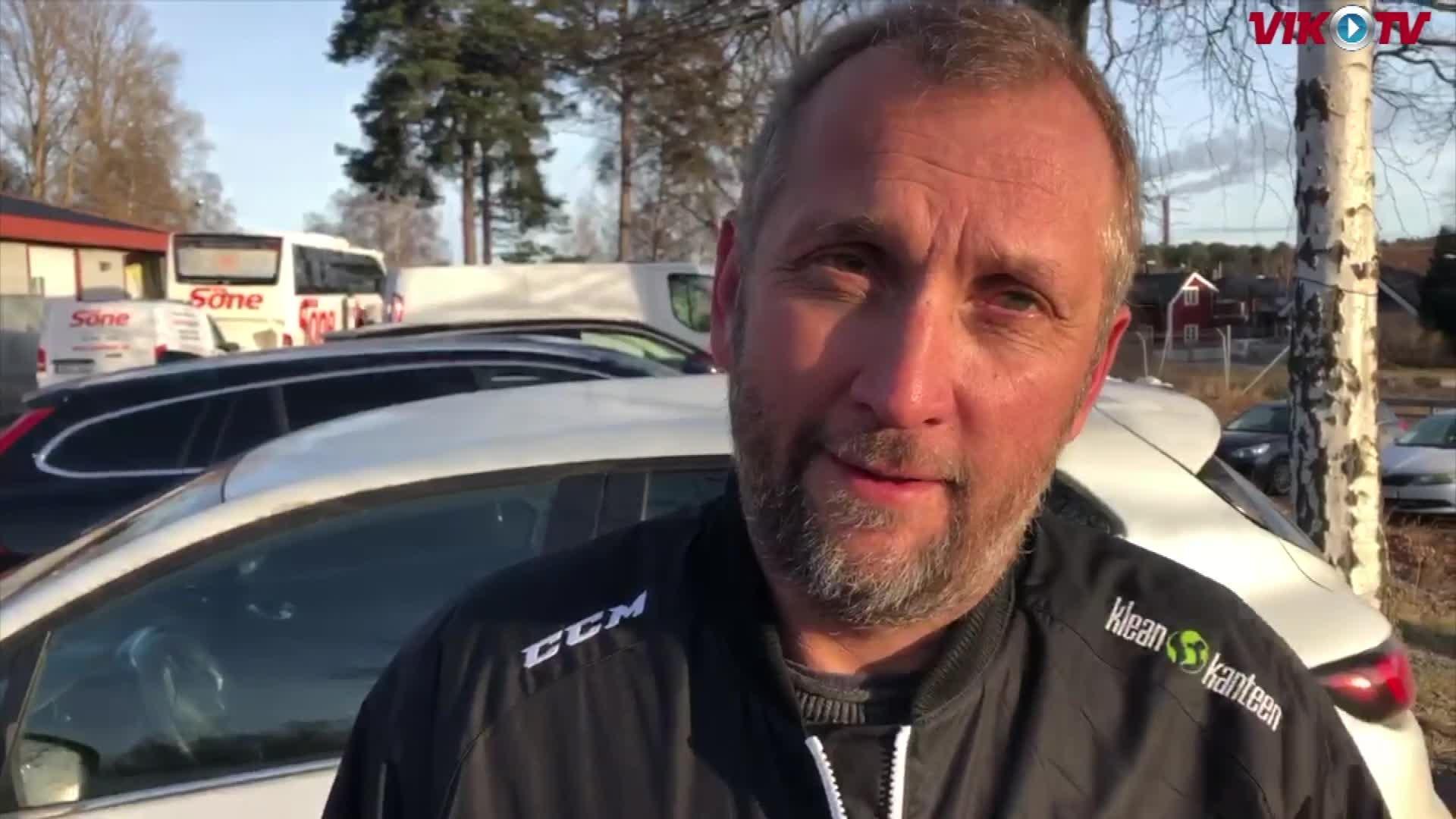 VIK-TV: Intervju Mikael Johansson före BIK Karlskoga borta