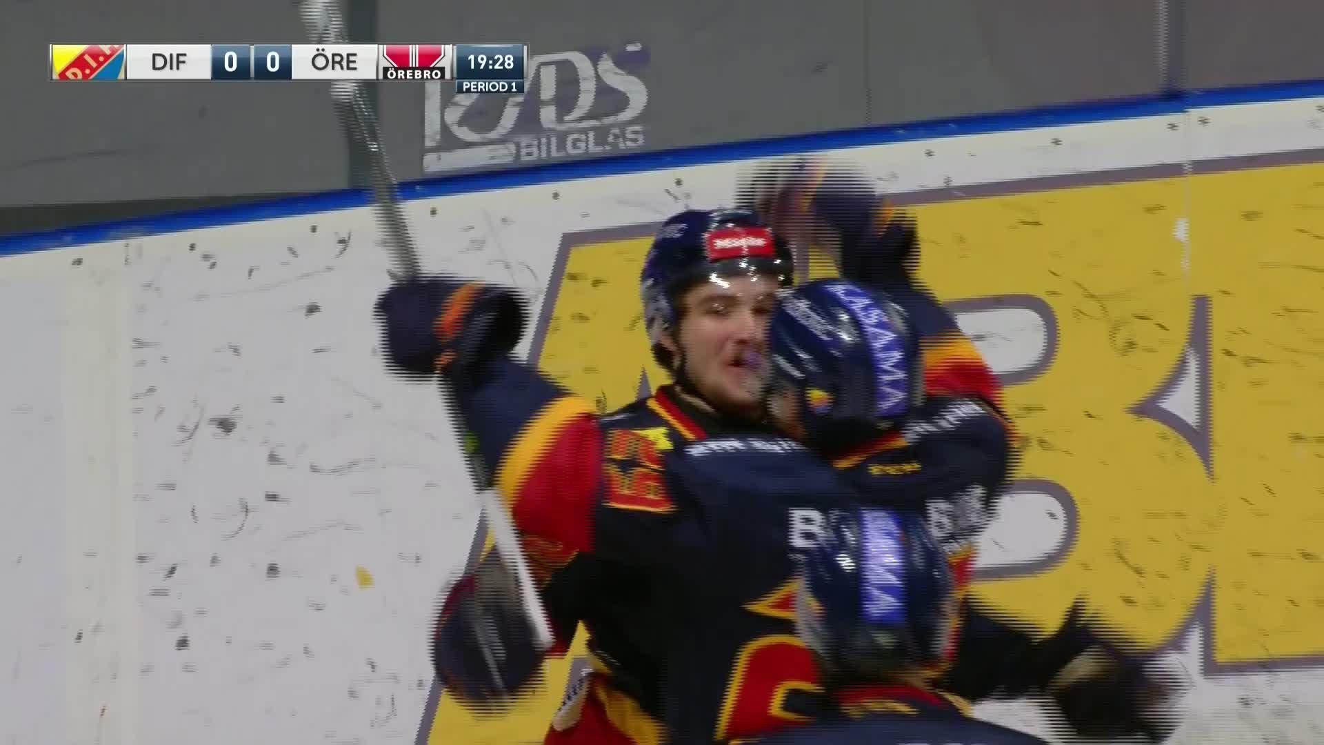 Djurgården Hockey - Örebro Hockey 1-0