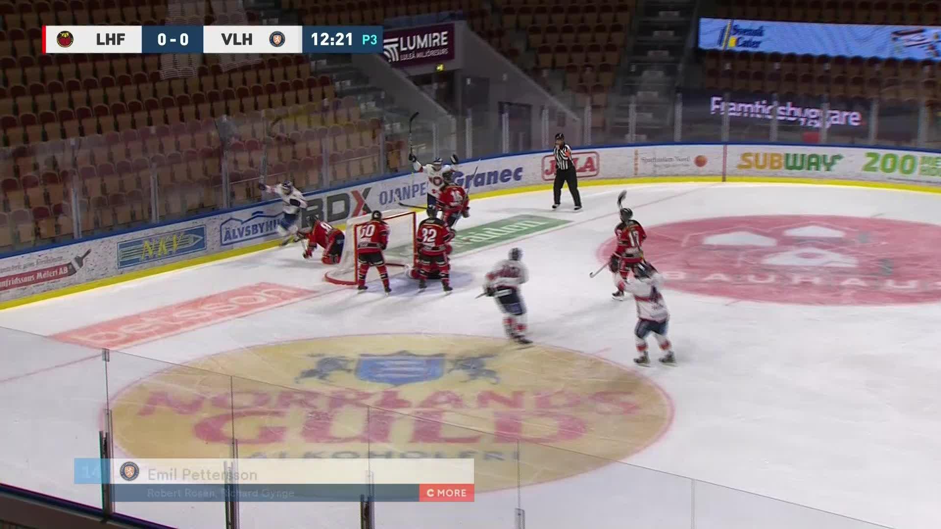 Luleå Hockey - Växjö Lakers 0-1