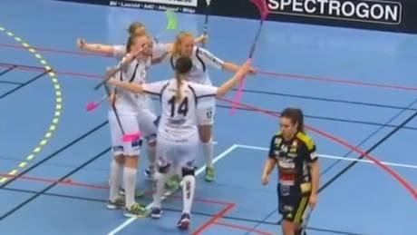 Täbys avgörande mål i Kvartsfinal 5