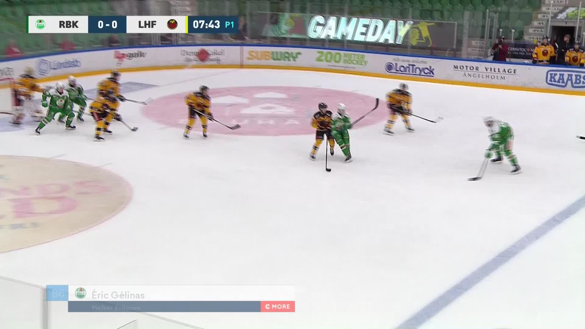 Rögle BK - Luleå Hockey 1-0
