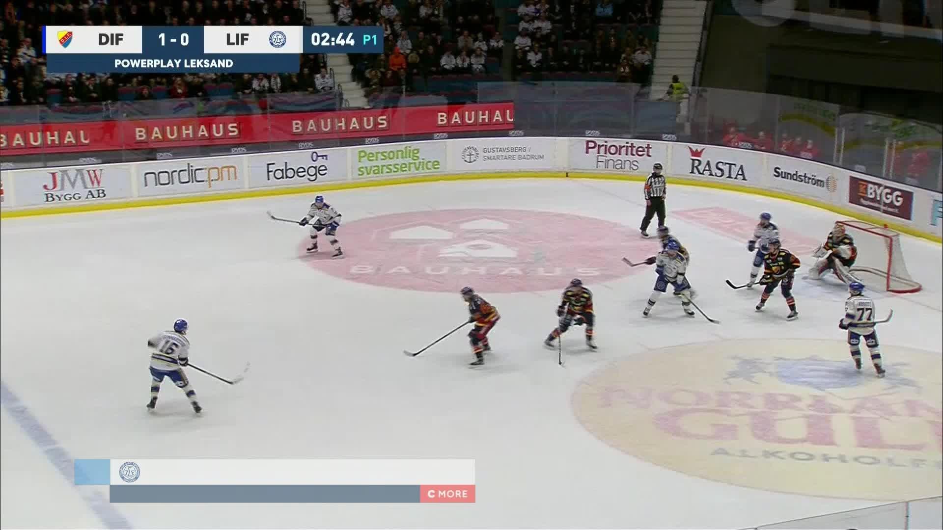 Djurgården Hockey - Leksands IF 1-1