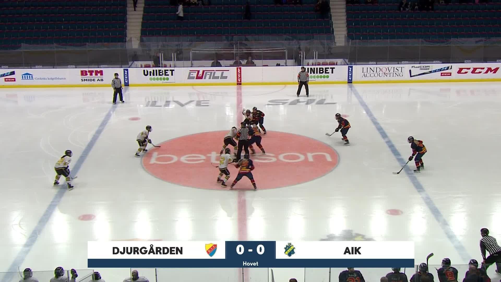 Highlights Kvartsfinal 2:3: Djurgården-AIK 22 Februari