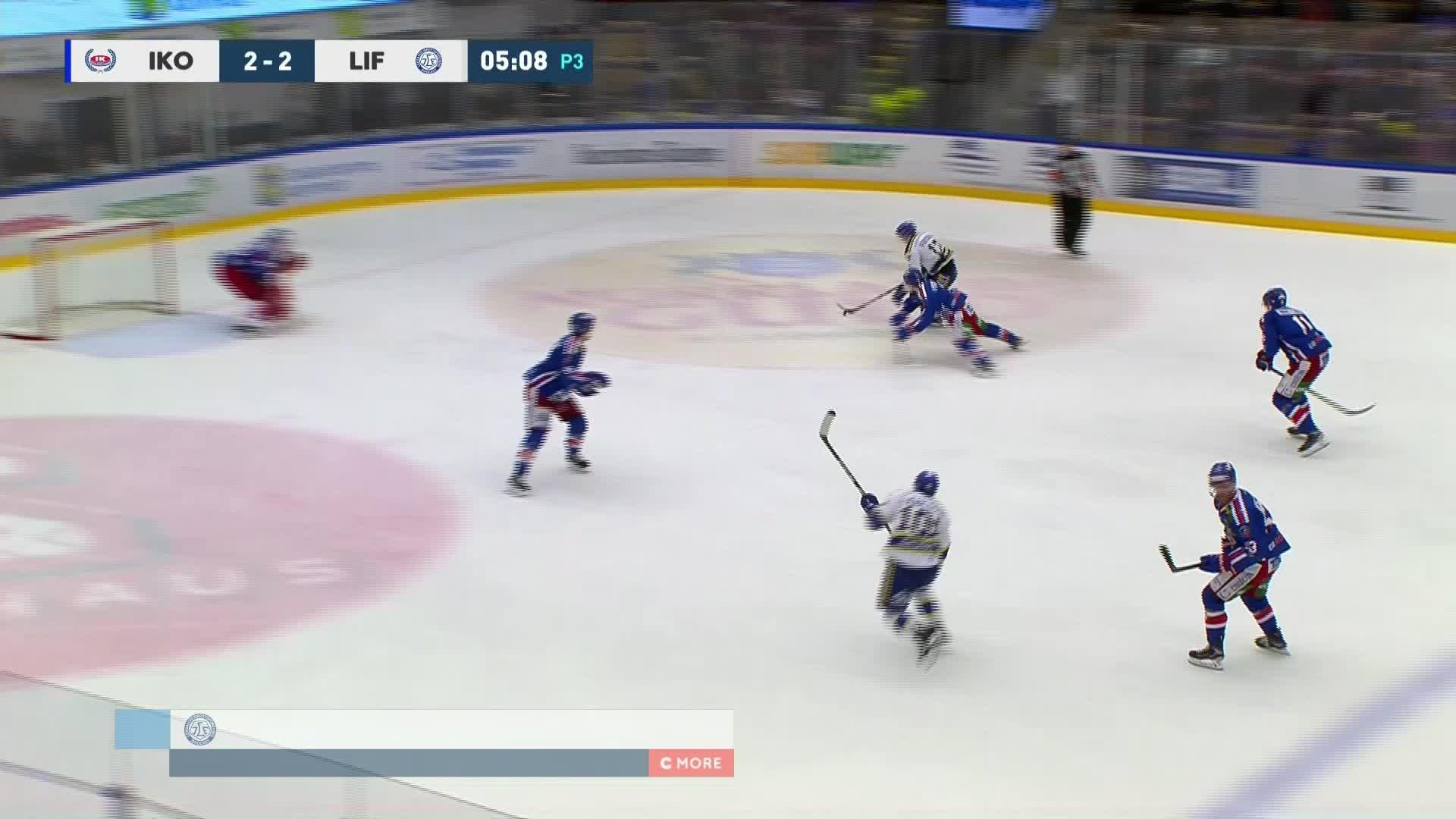 IK Oskarshamn - Leksands IF 2-3