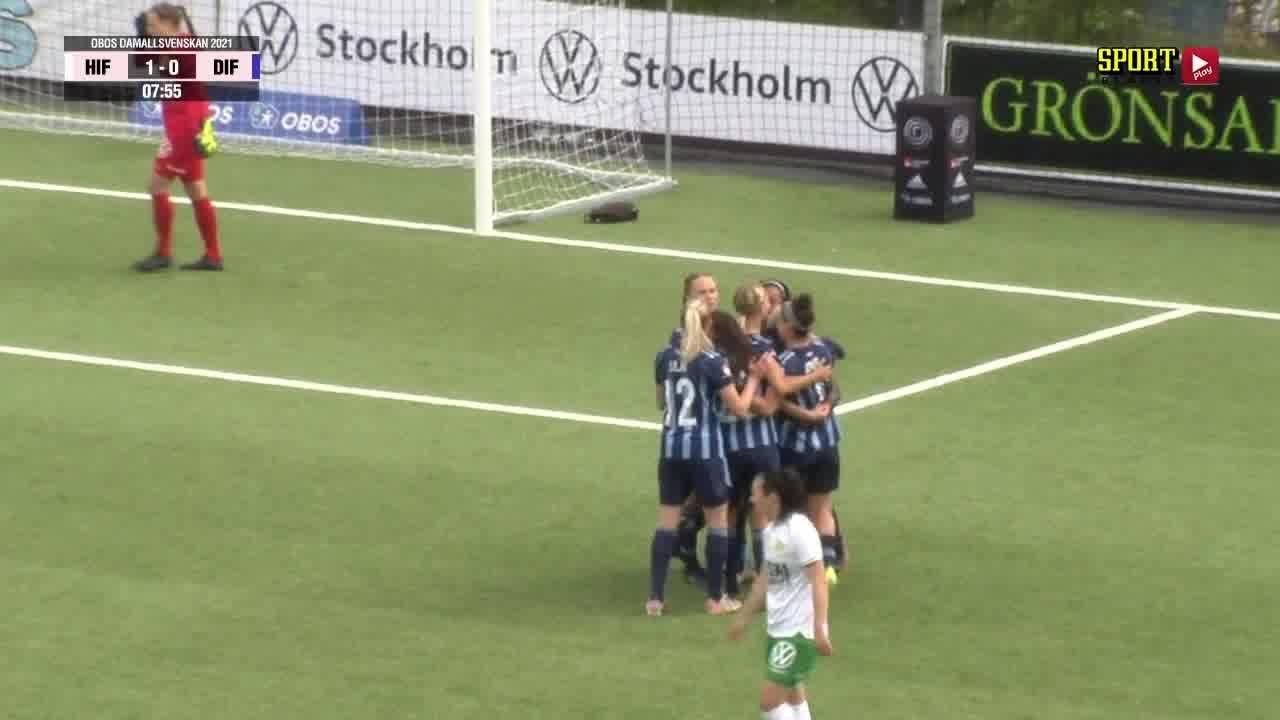 Highlights: Hammarby - Djurgårdens IF