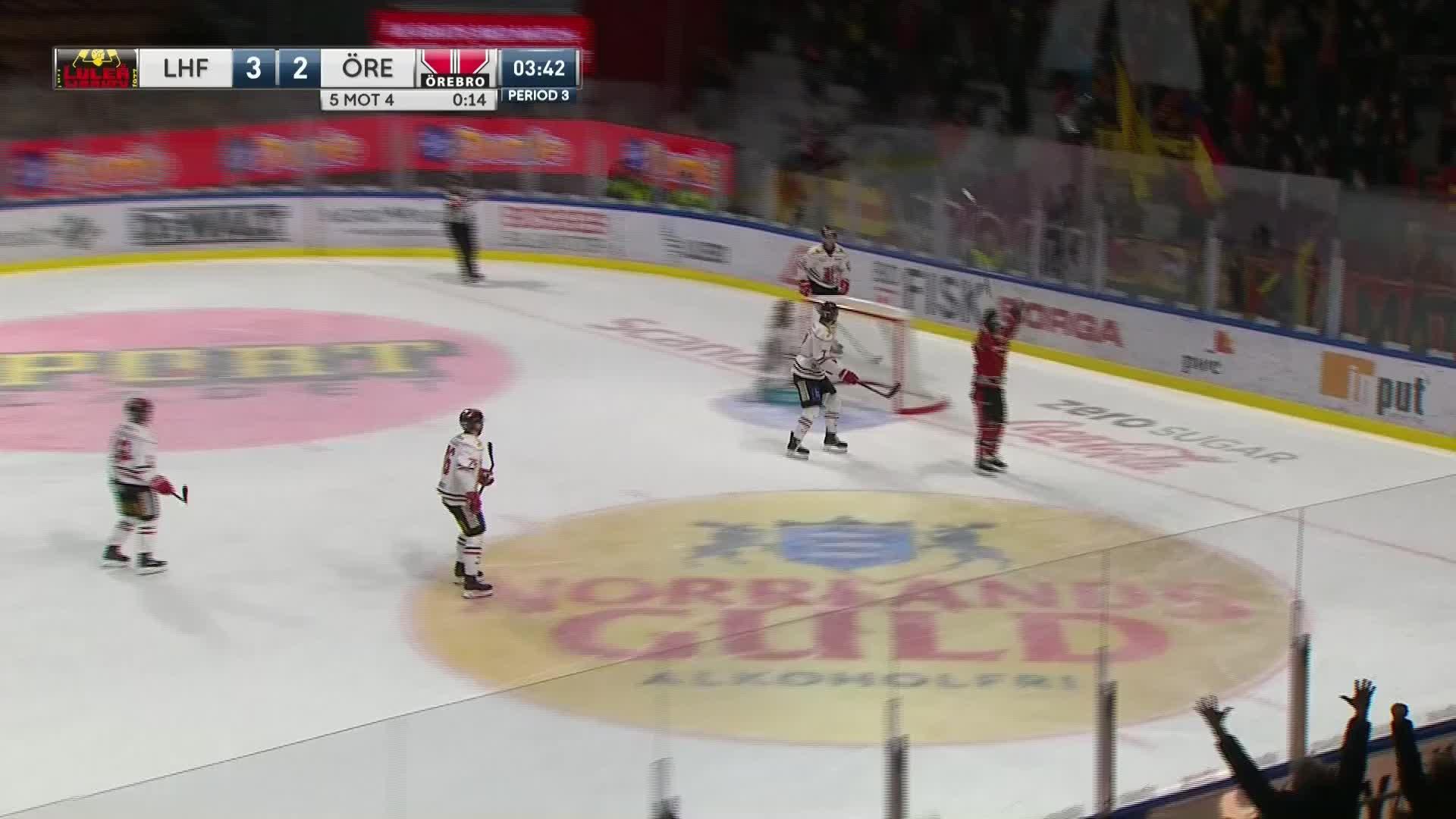 Luleå Hockey - Örebro Hockey 4-2