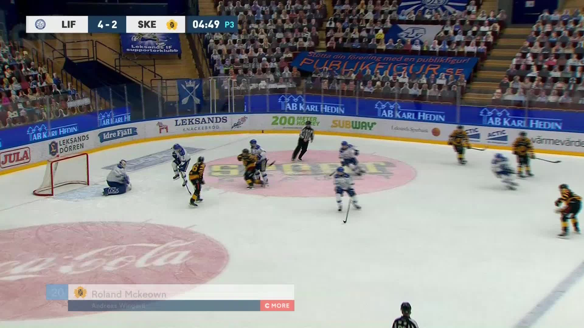 Leksands IF - Skellefteå AIK 4-3