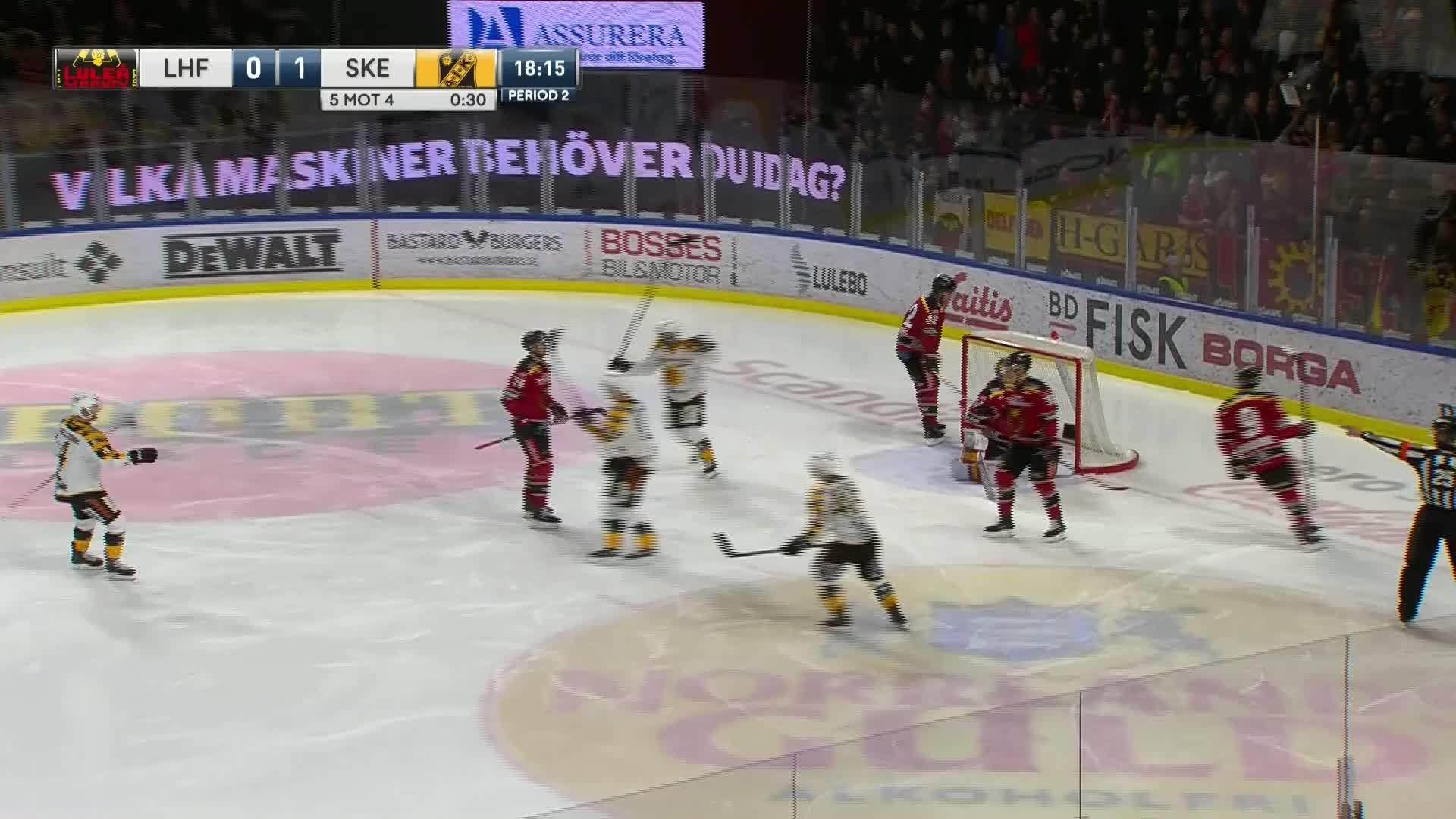 Luleå Hockey - Skellefteå AIK 0-1