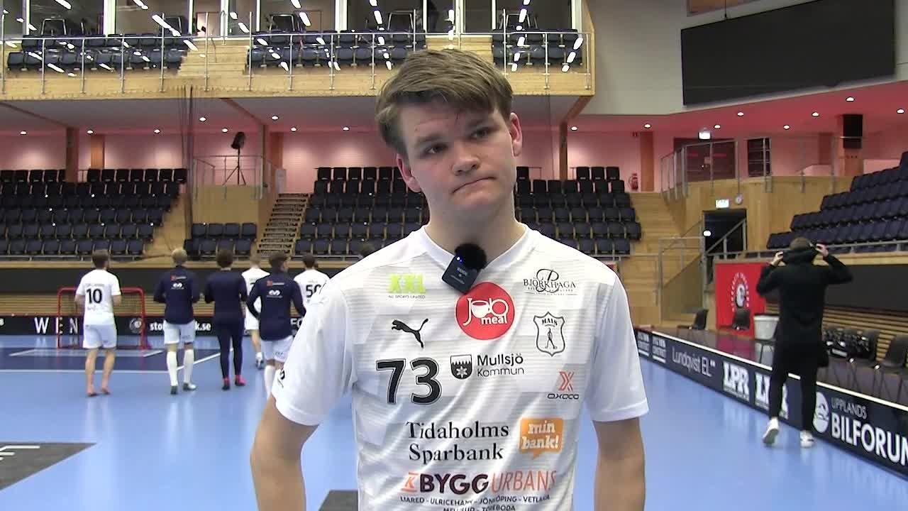 Intervju med Wille Knuthas efter Semifinal 3