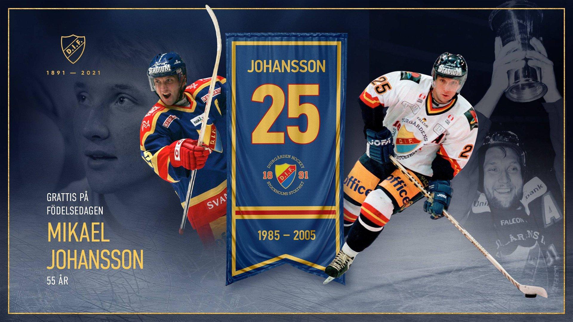 Grattis Mikael Johansson, 55 år
