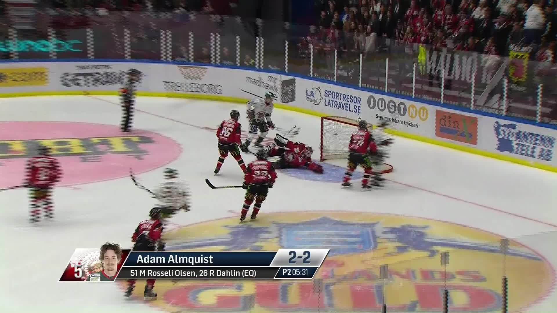 Malmö Redhawks - Frölunda HC 2-2