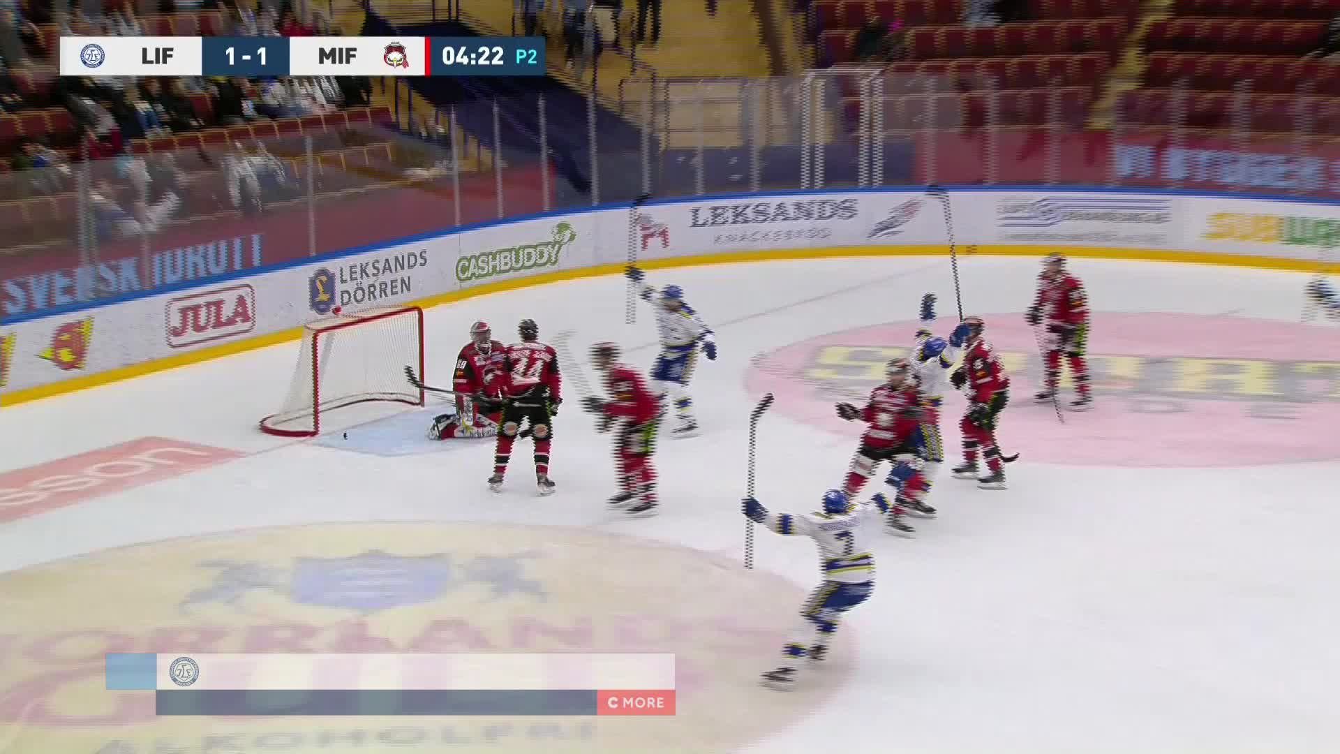 Leksands IF - Malmö Redhawks 2-1