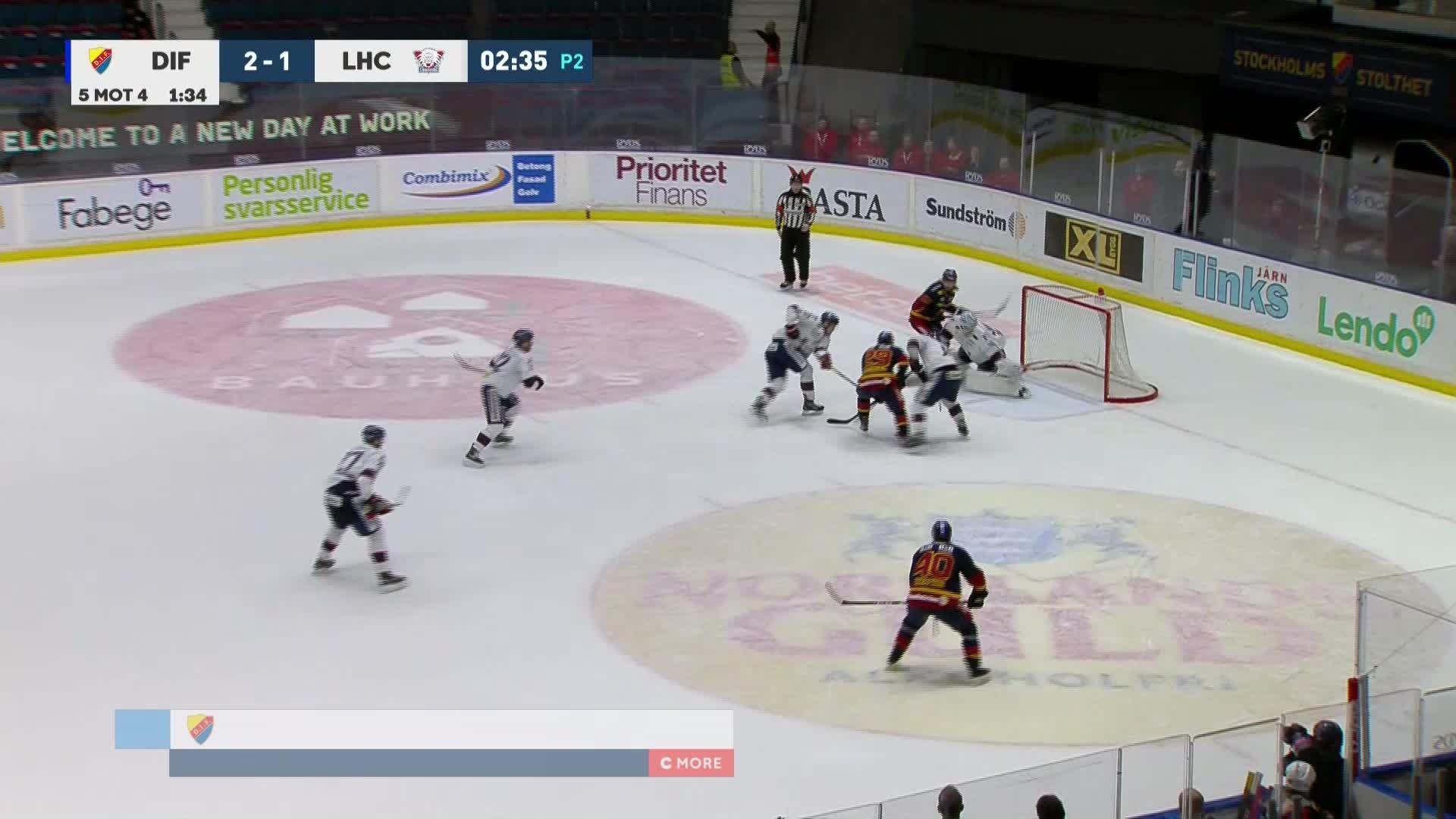 Djurgården Hockey - Linköping HC 3-1