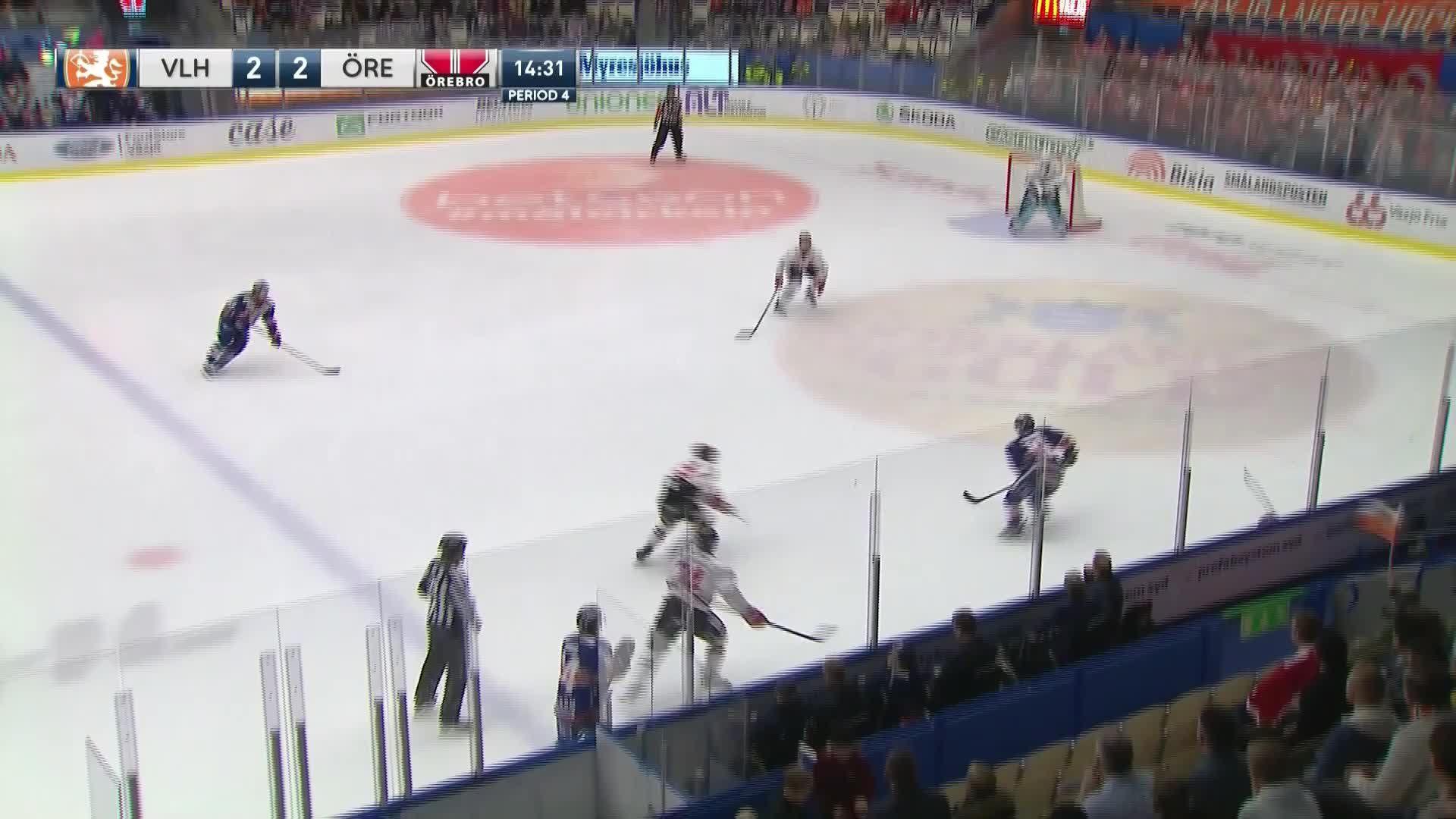 Växjö Lakers - Örebro Hockey 3-2