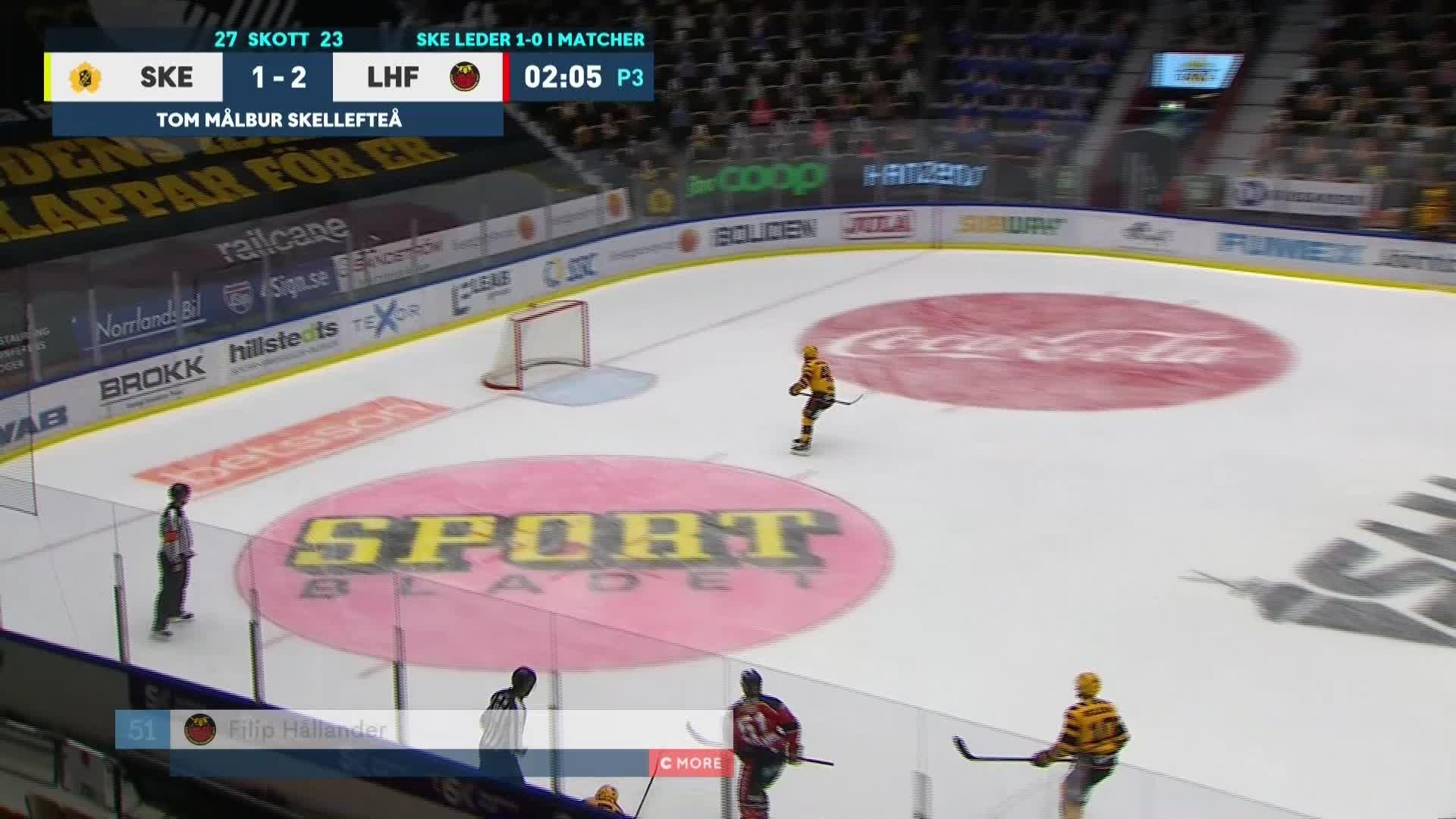 Skellefteå AIK - Luleå Hockey 1-3