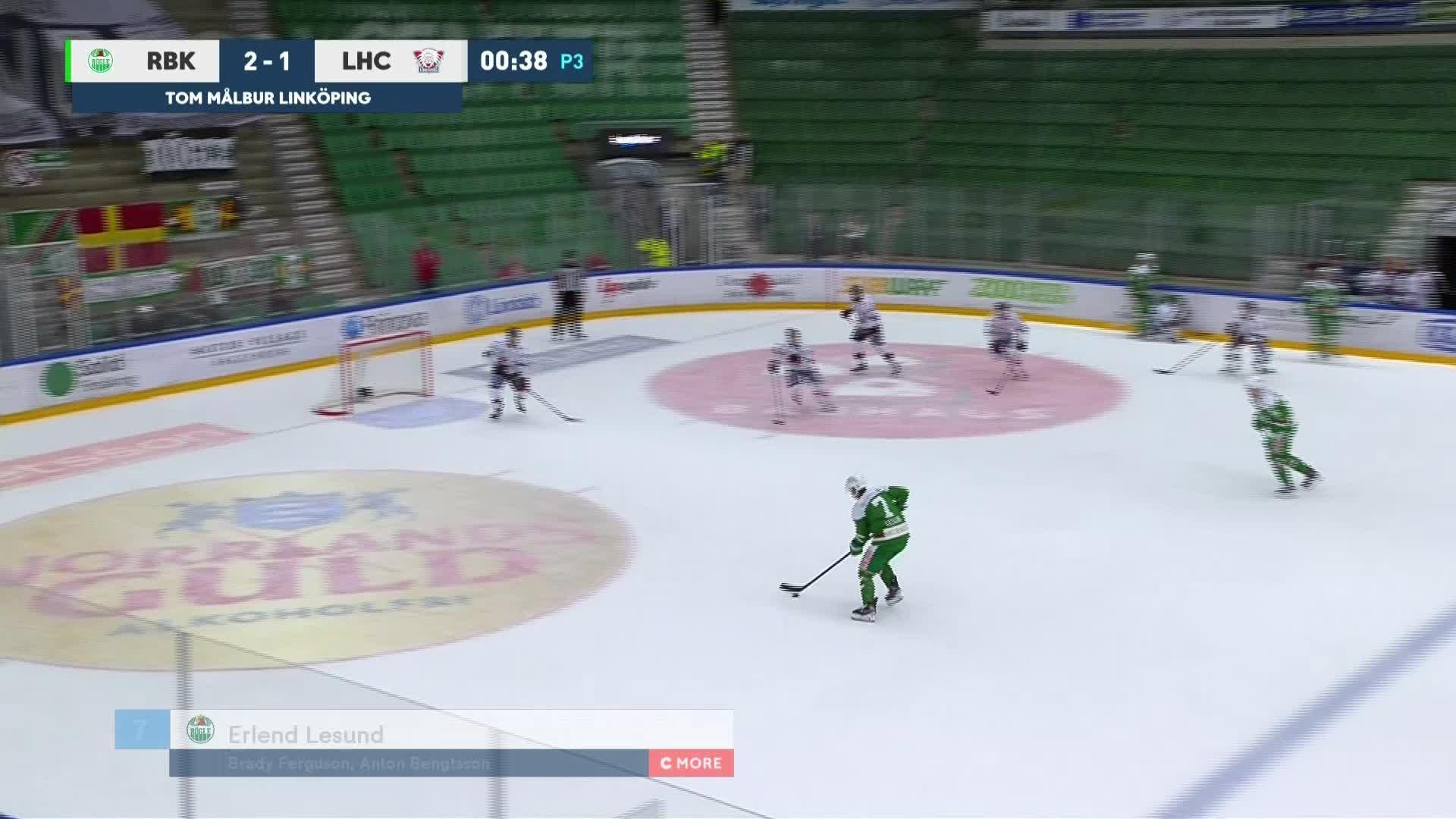 Rögle BK - Linköping HC 3-1