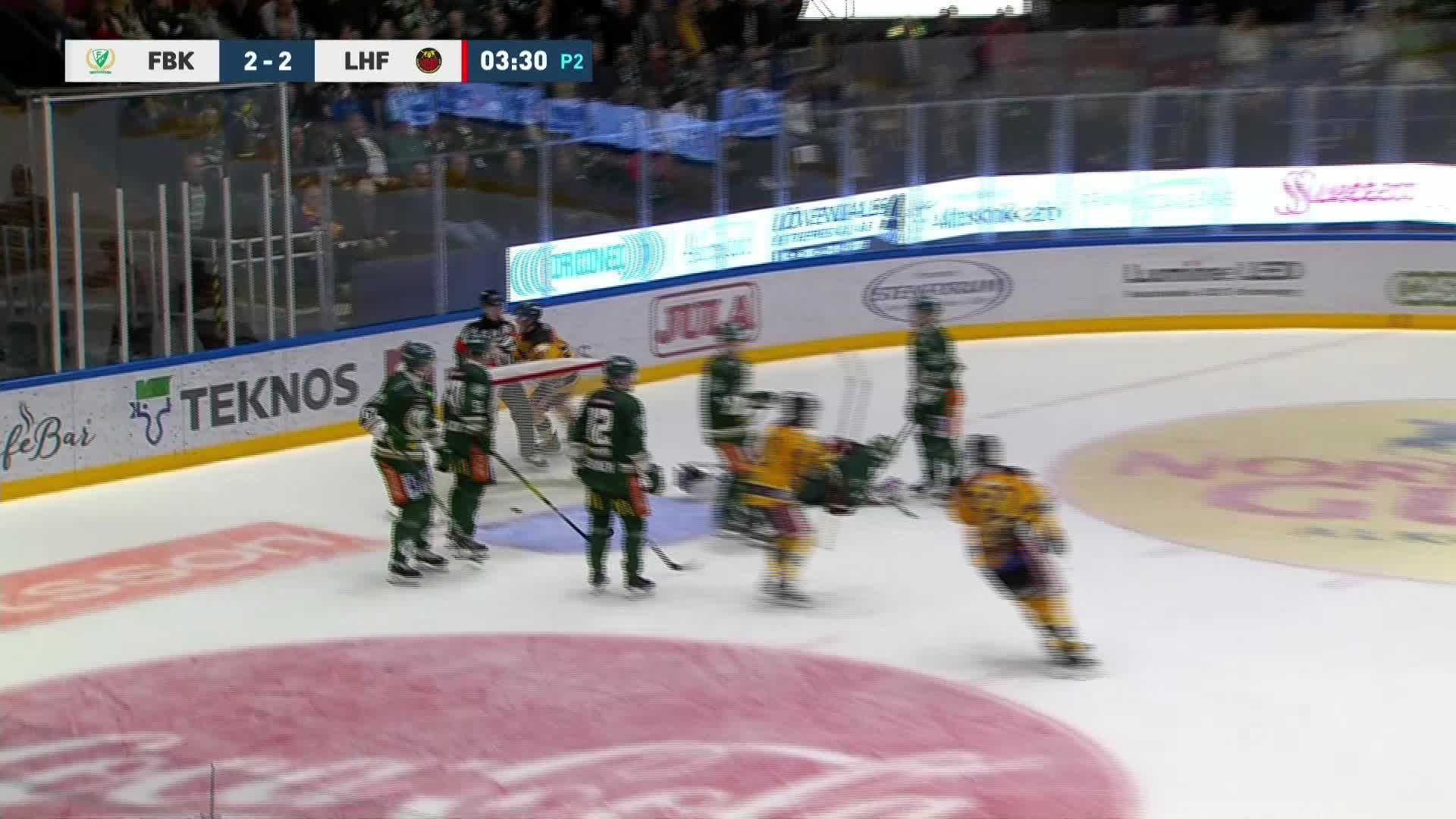 Färjestad BK - Luleå Hockey 2-3