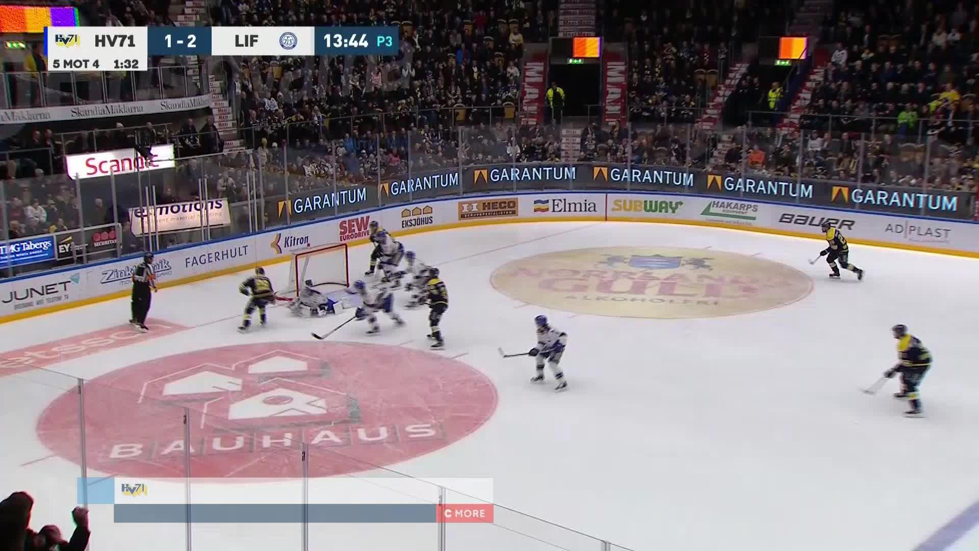 HV71 - Leksands IF 2-2