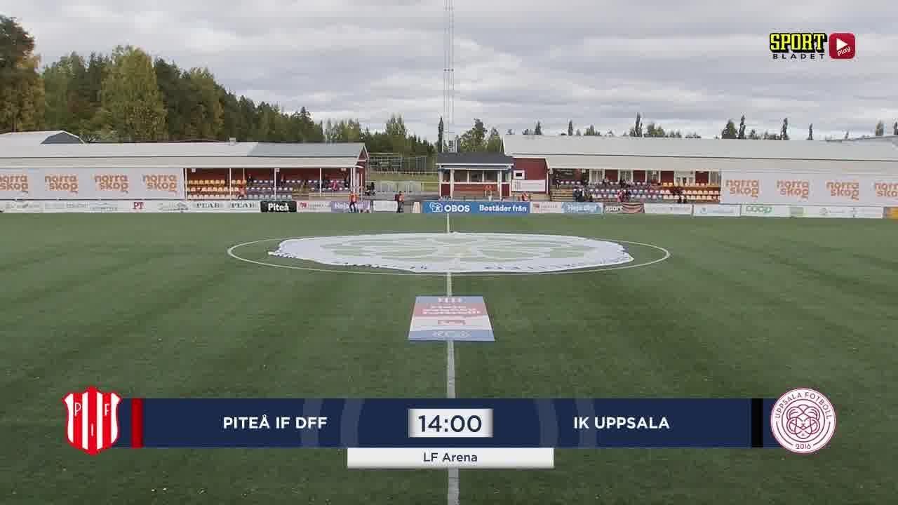 Highlights: Piteå - Uppsala 13 sept