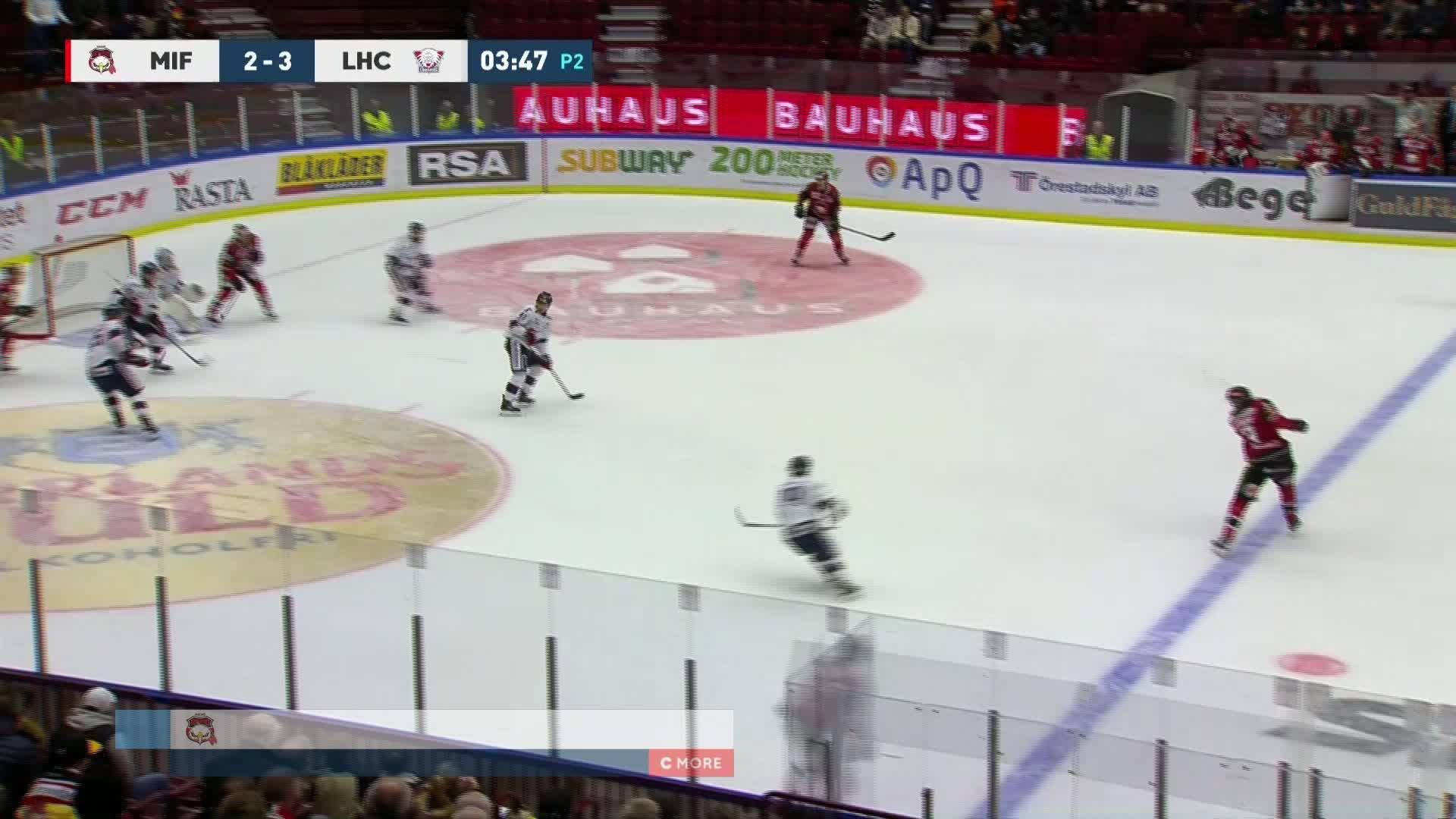 Malmö Redhawks - Linköping HC 3-3