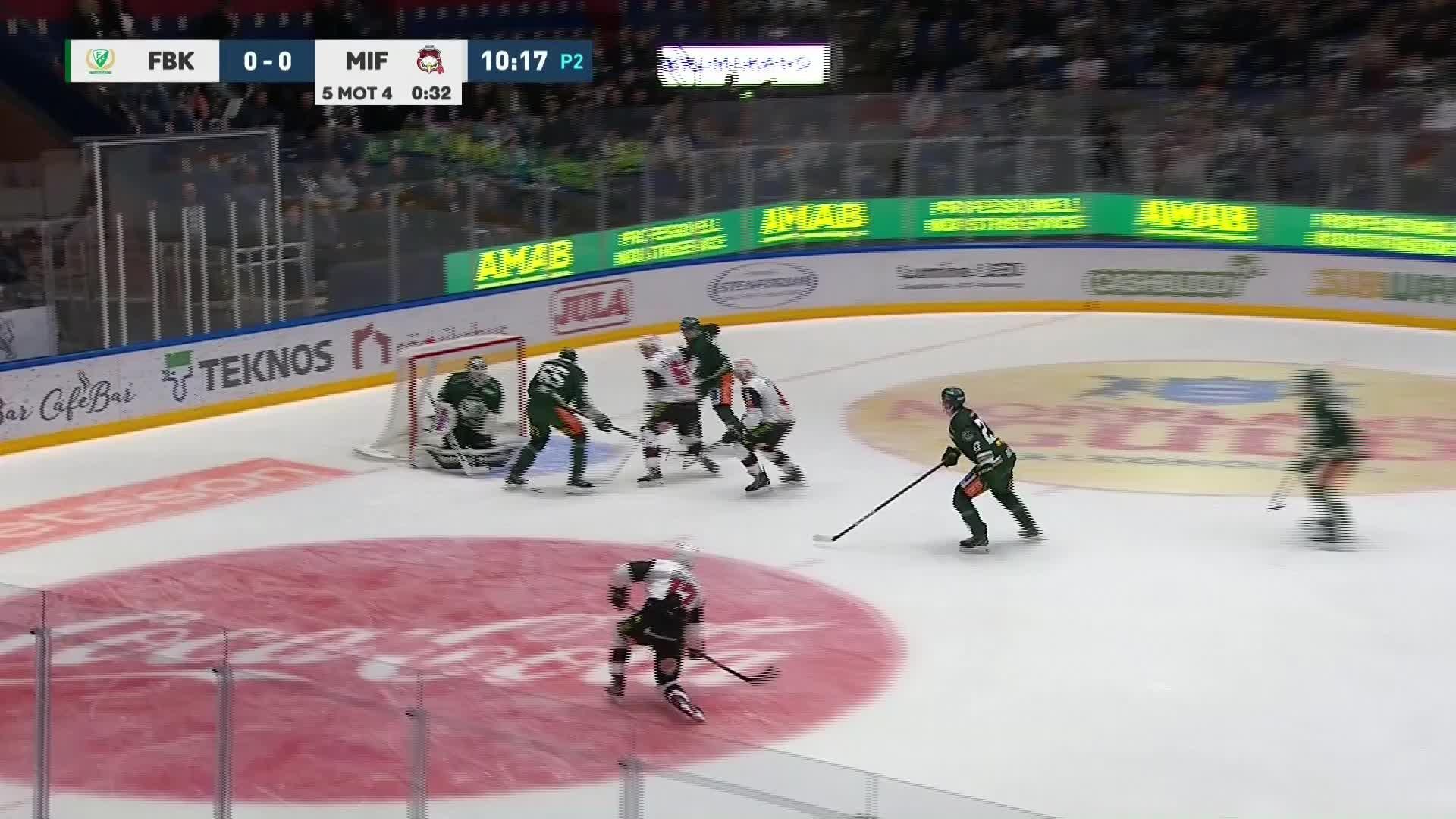 Färjestad BK - Malmö Redhawks 0-1
