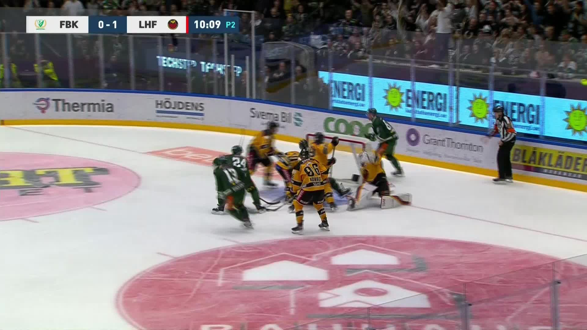 Färjestad BK - Luleå Hockey 1-1