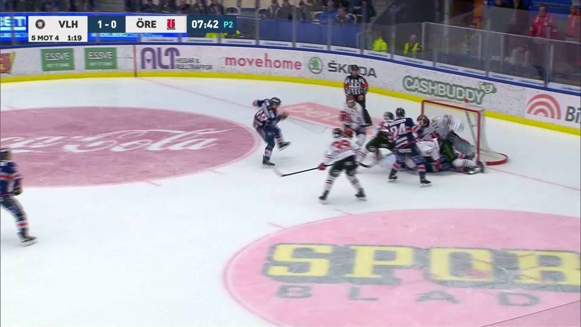Växjö Lakers - Örebro Hockey 2-0