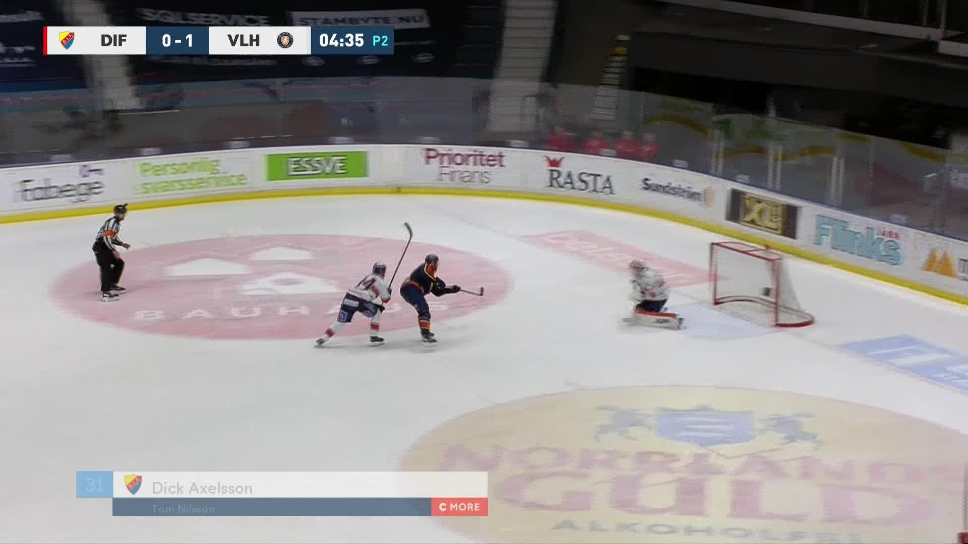 Djurgården Hockey - Växjö Lakers 1-1
