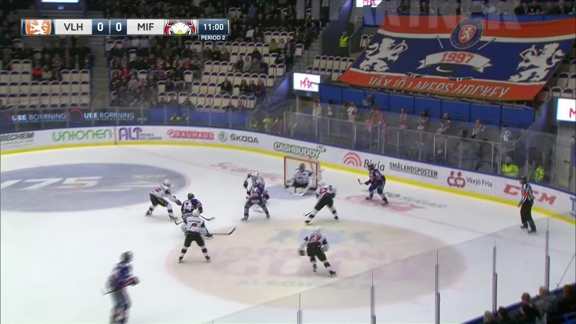 Växjö Lakers - Malmö Redhawks 1-0