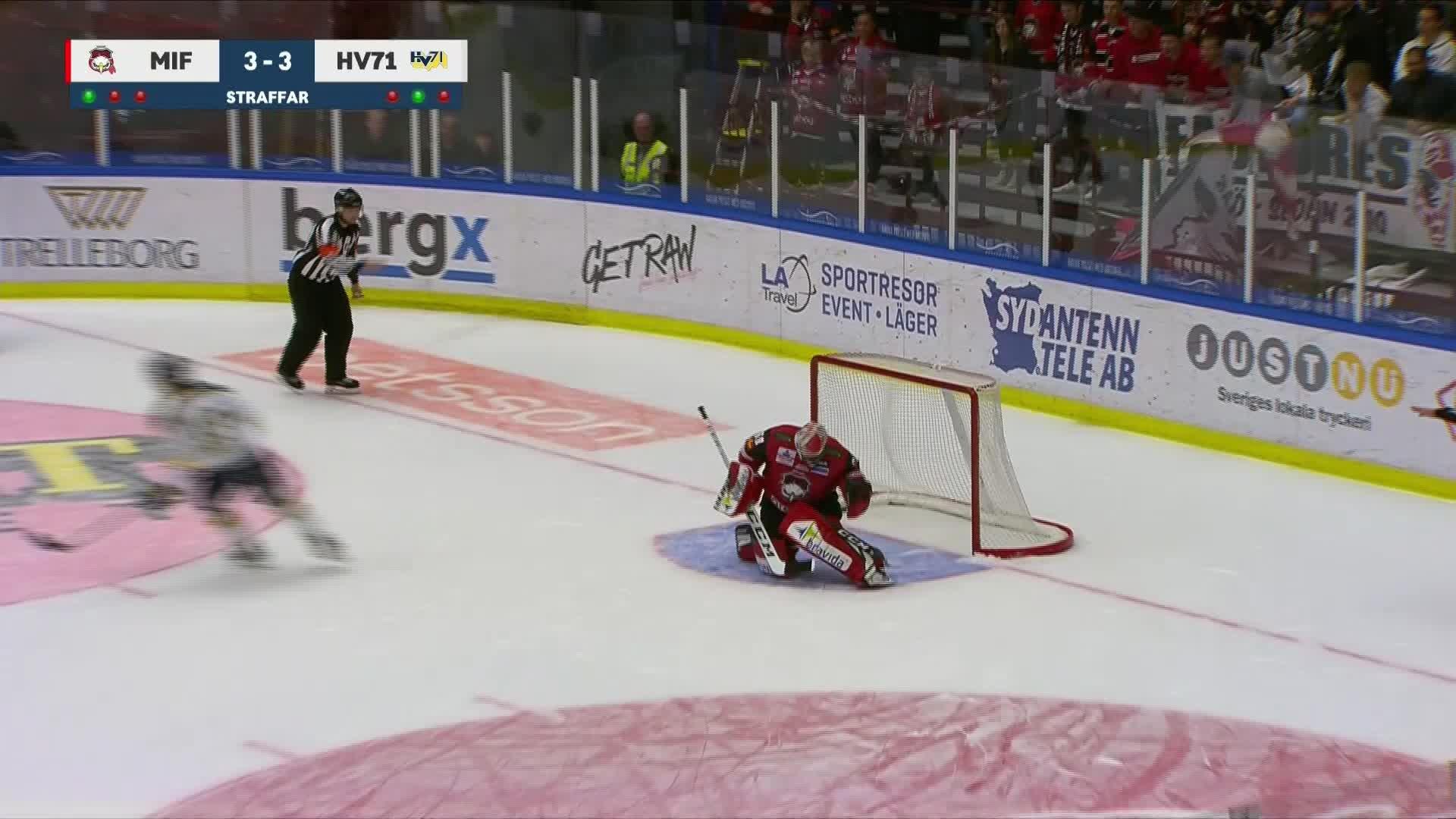 Malmö Redhawks - HV71 3-4
