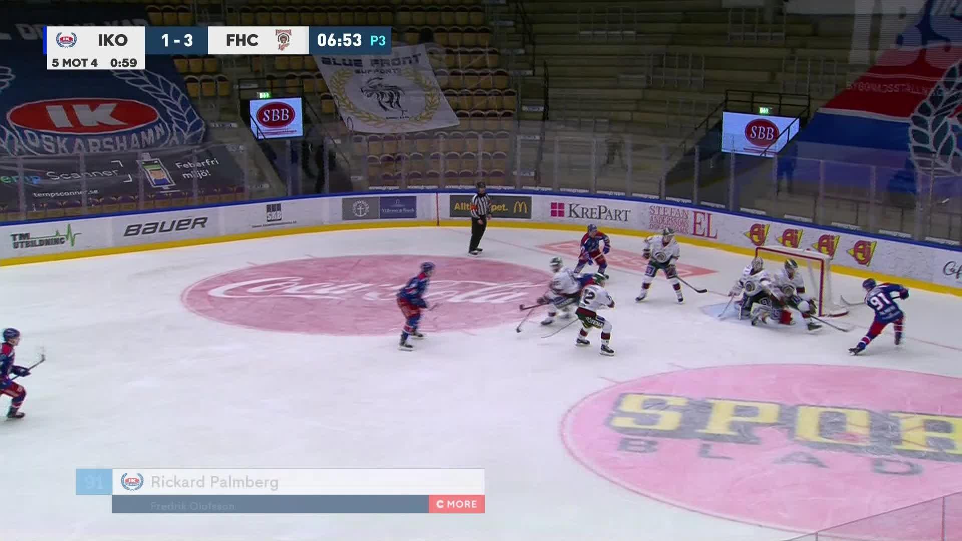 IK Oskarshamn - Frölunda HC 2-3