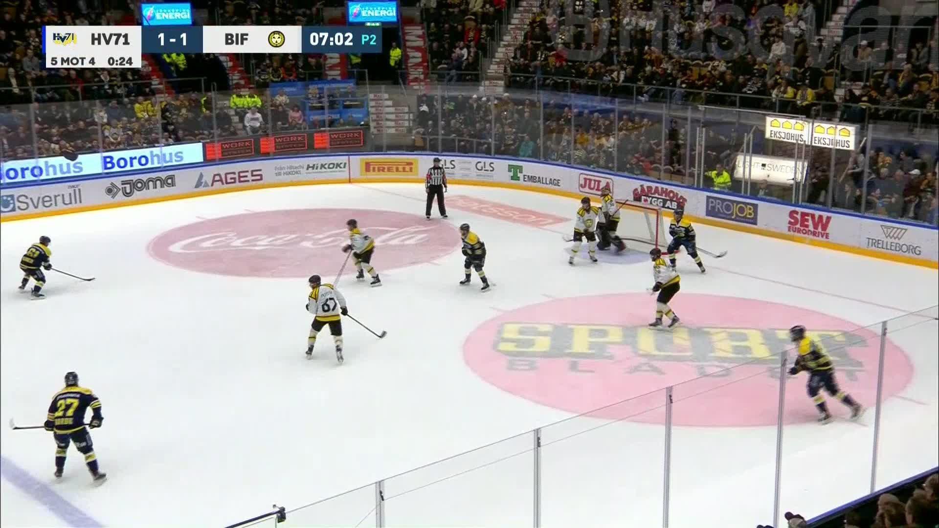 HV71 - Brynäs IF 2-1