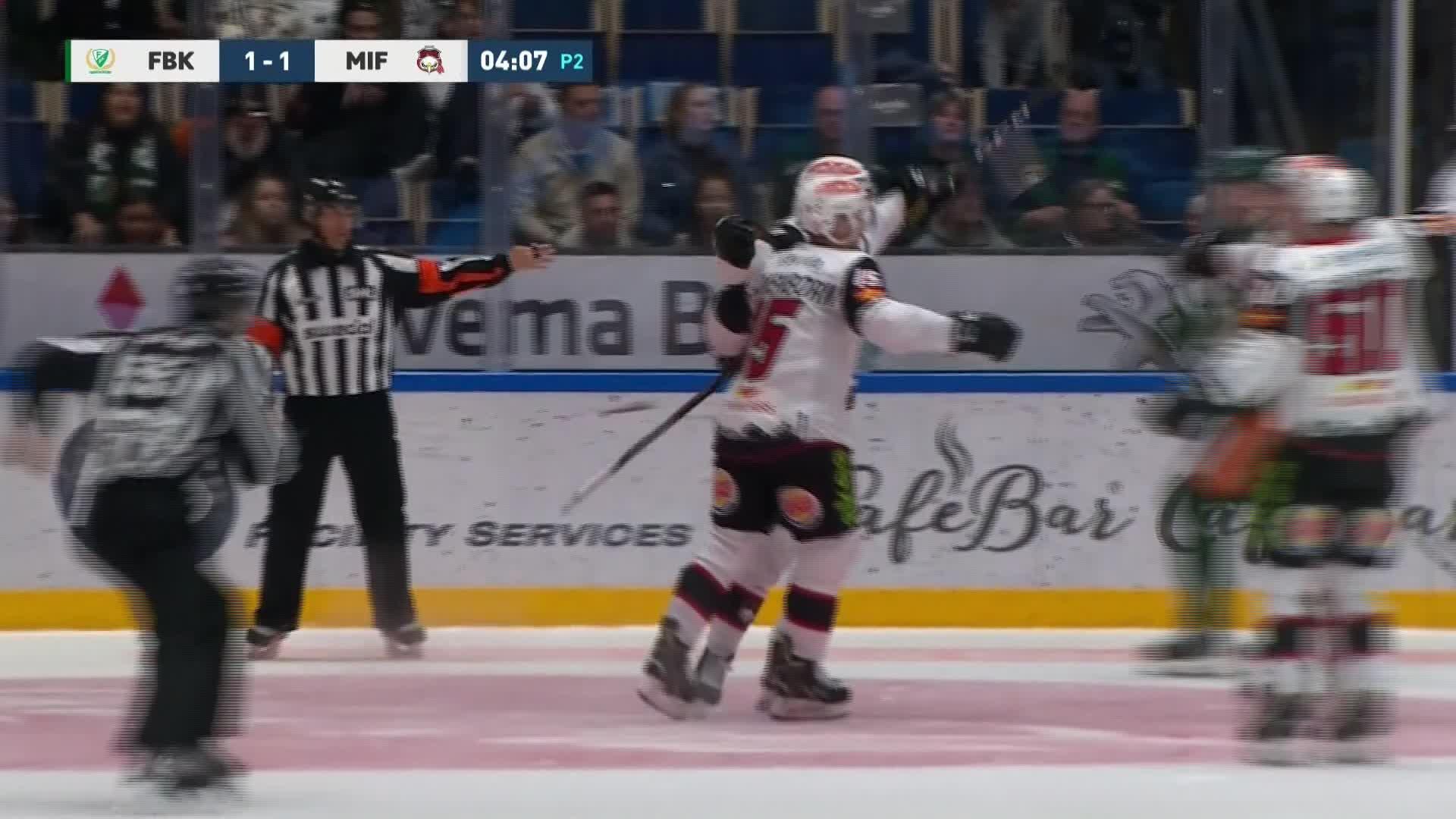 Färjestad BK - Malmö Redhawks 1-2