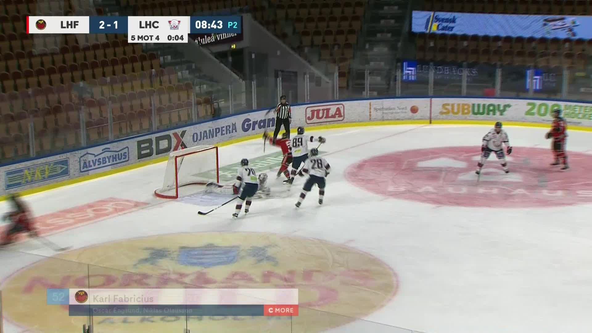 Luleå Hockey - Linköping HC 3-1