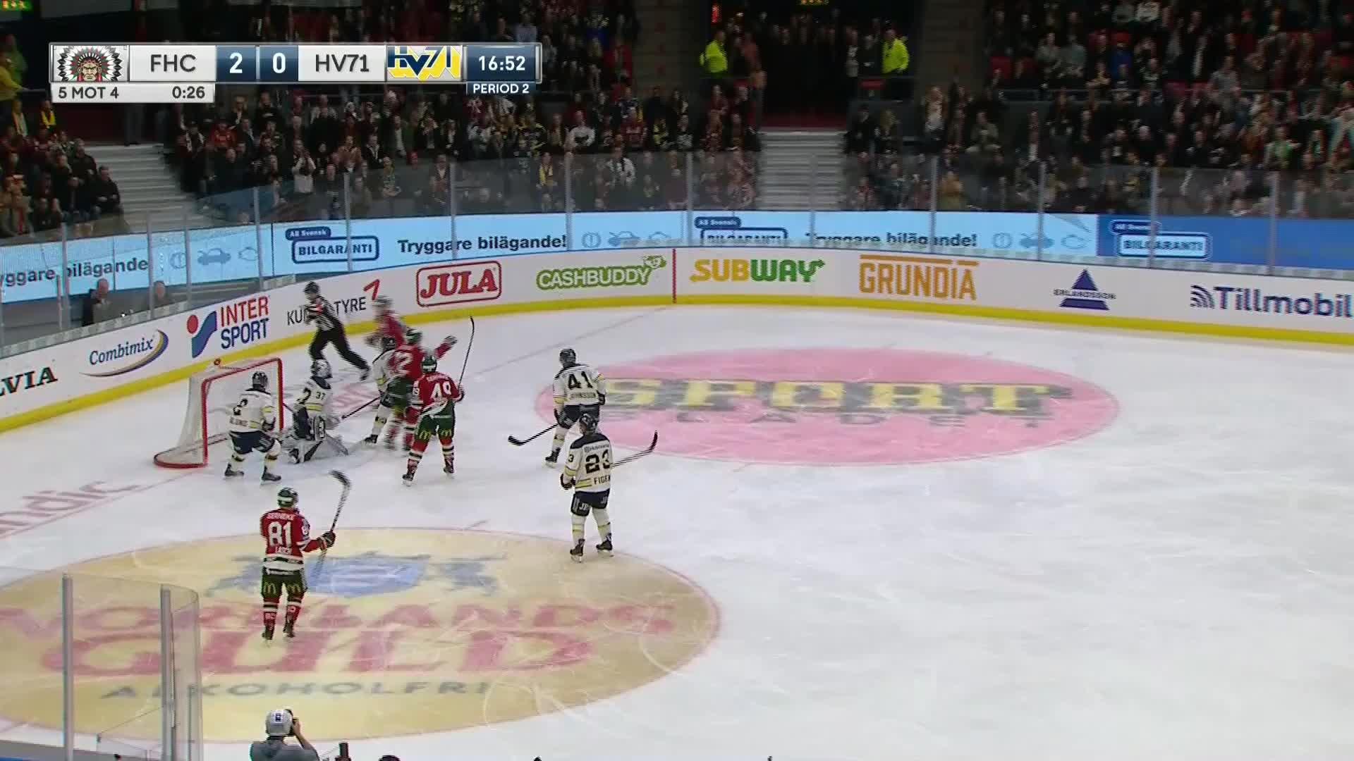 Frölunda HC - HV71 3-0