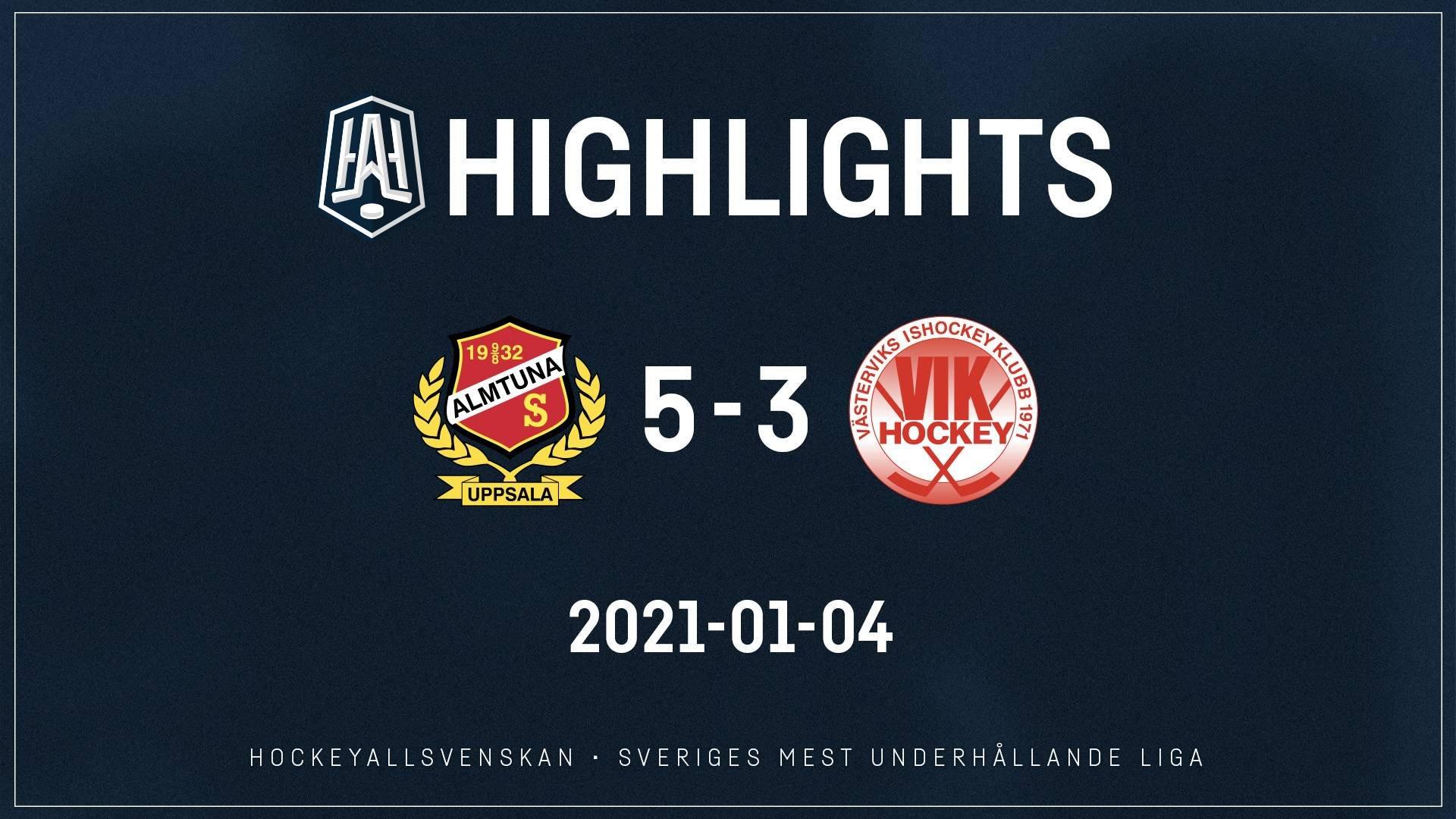 2021-01-04 Almtuna - Västervik 5-3