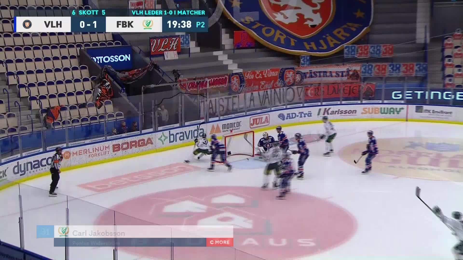 Växjö Lakers - Färjestad BK 0-2