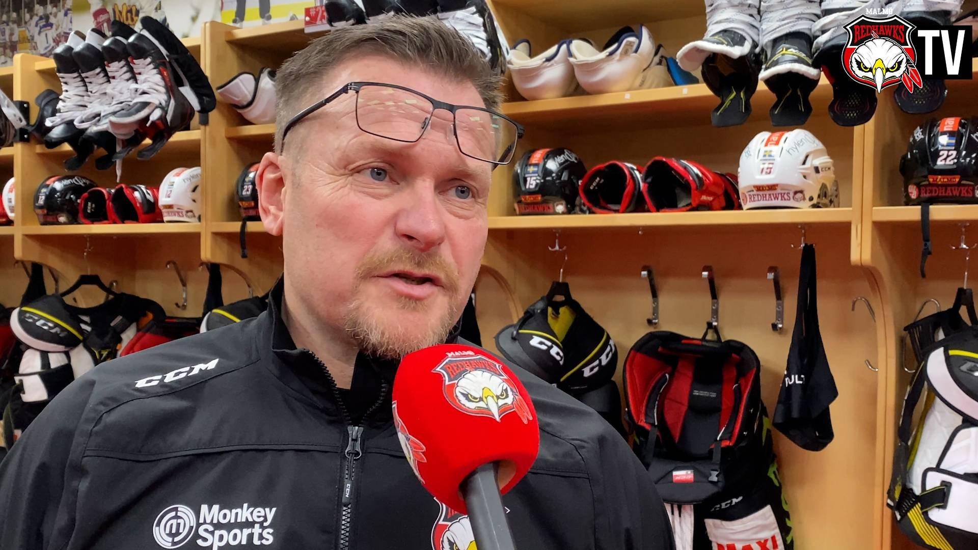 Joakim Fagervall inför nästa hemmamatch