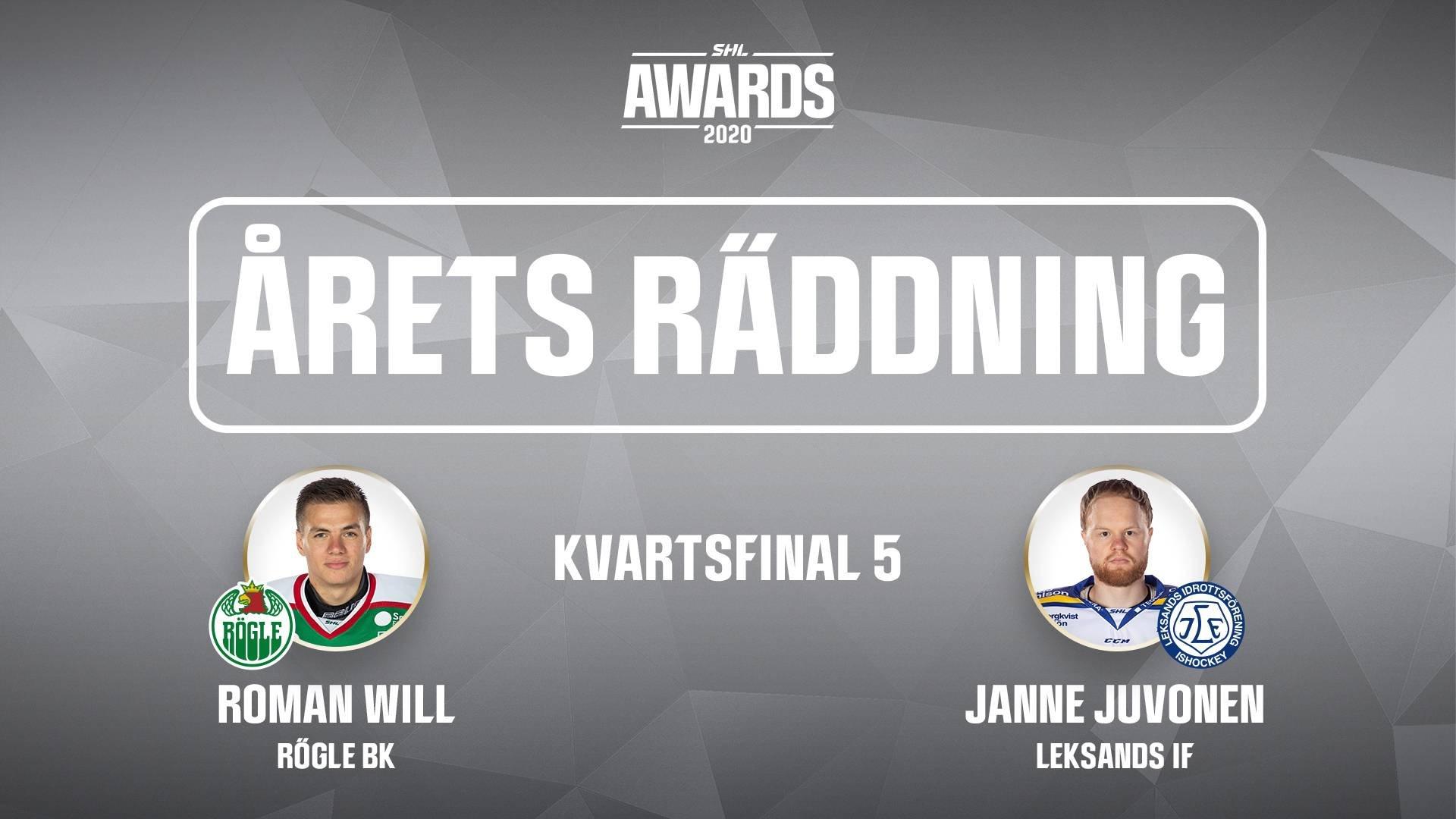Årets räddning 2019/2020 - Kvartsfinal 5