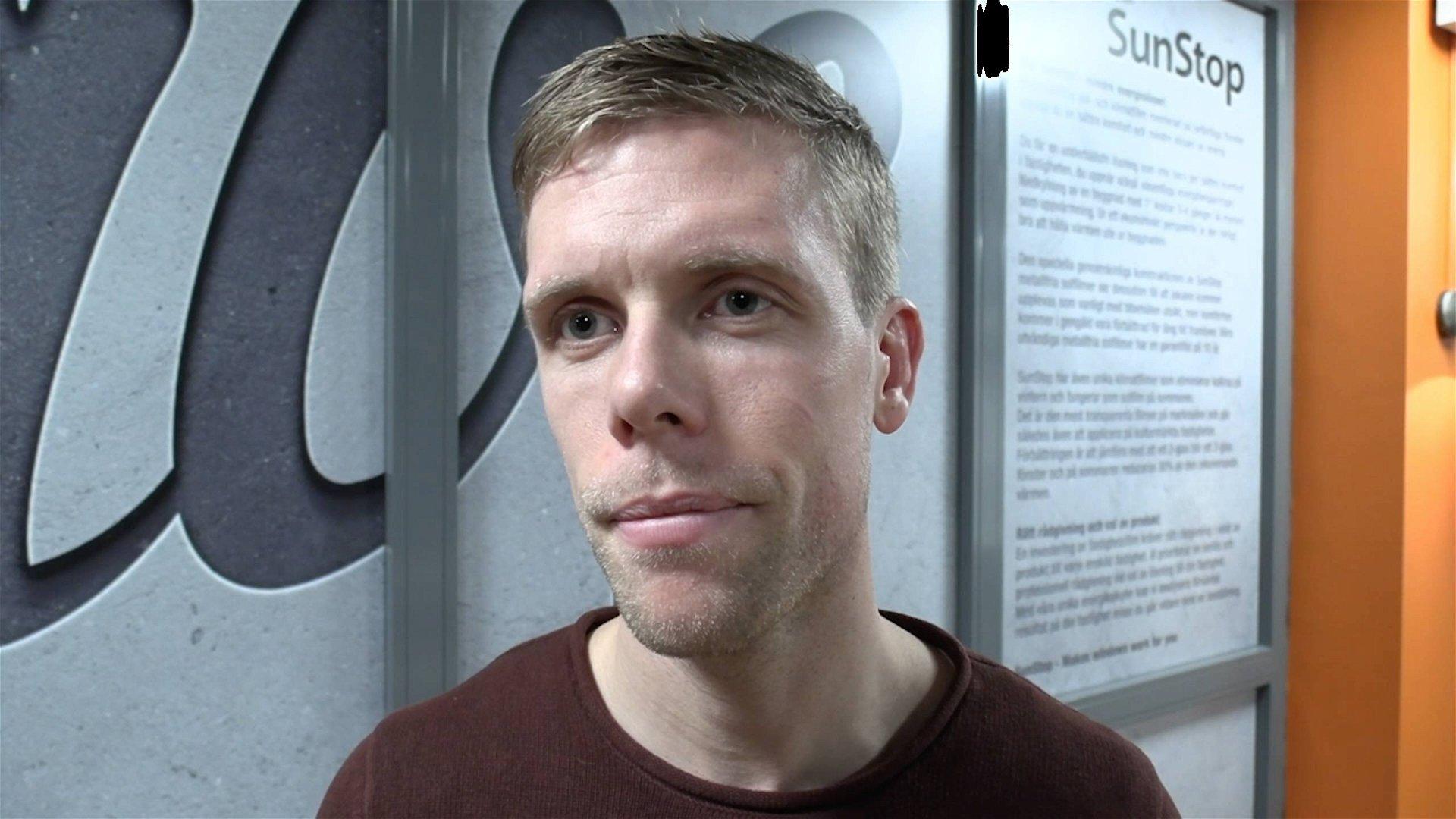 Fredrik Johansson 600 matcher