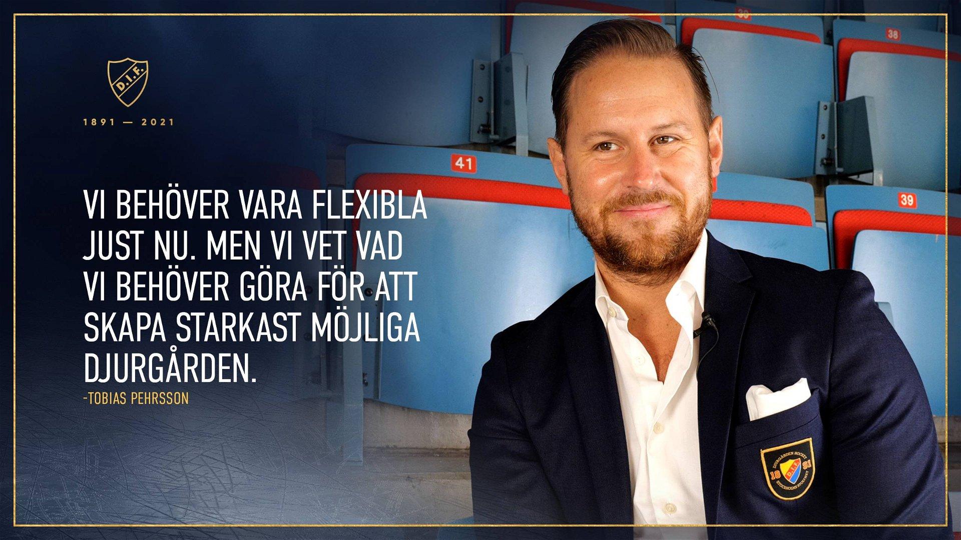 Tobias Pehrsson med en sportslig uppdatering