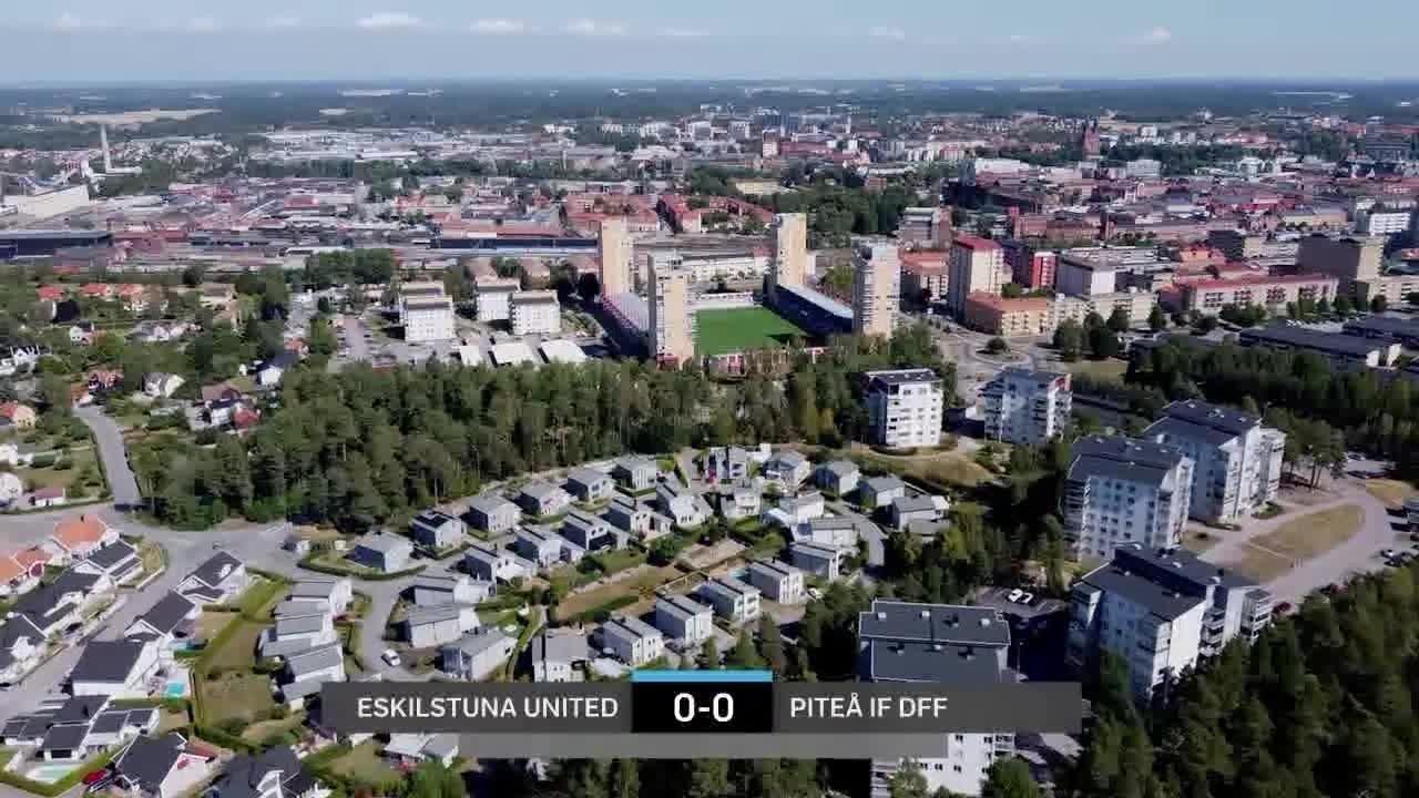 Highlights: Eskilstuna – Piteå 16 aug