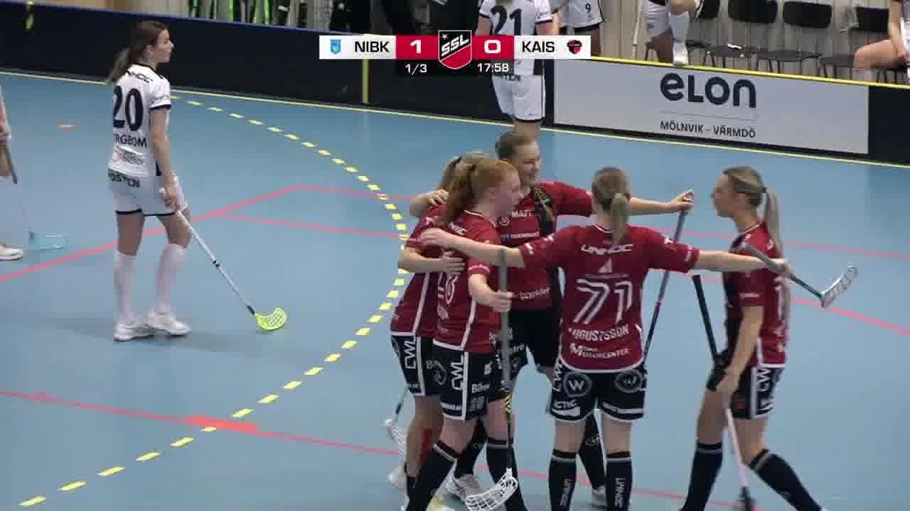 Highlights: Nacka Wallenstam IBK - KAIS Mora